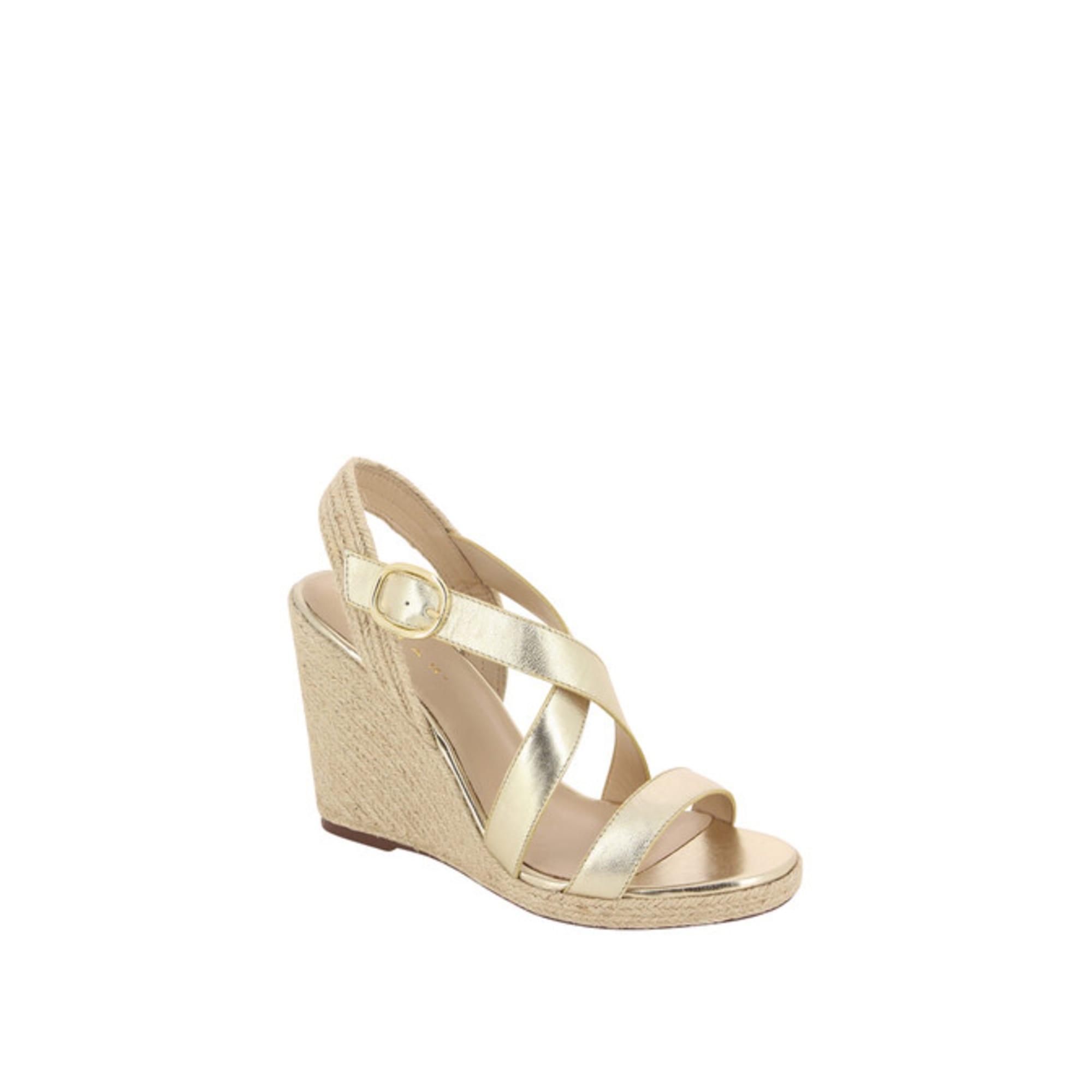 Sandales compensées JONAK 38 doré 6627204