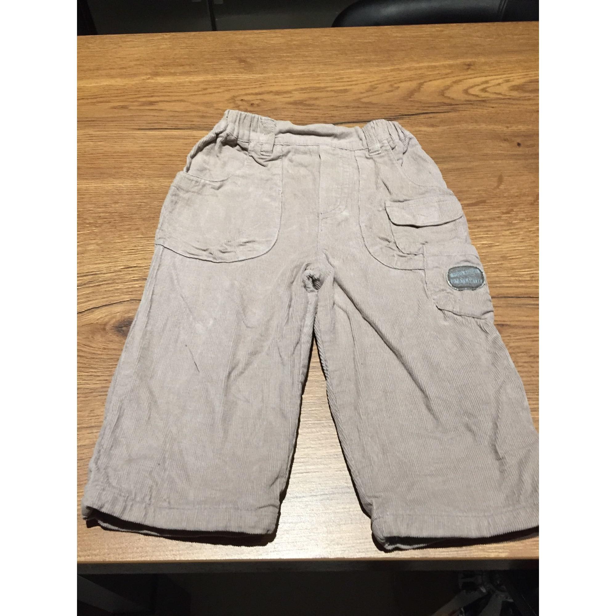 Pantalon GRAIN DE BLÉ Beige, camel