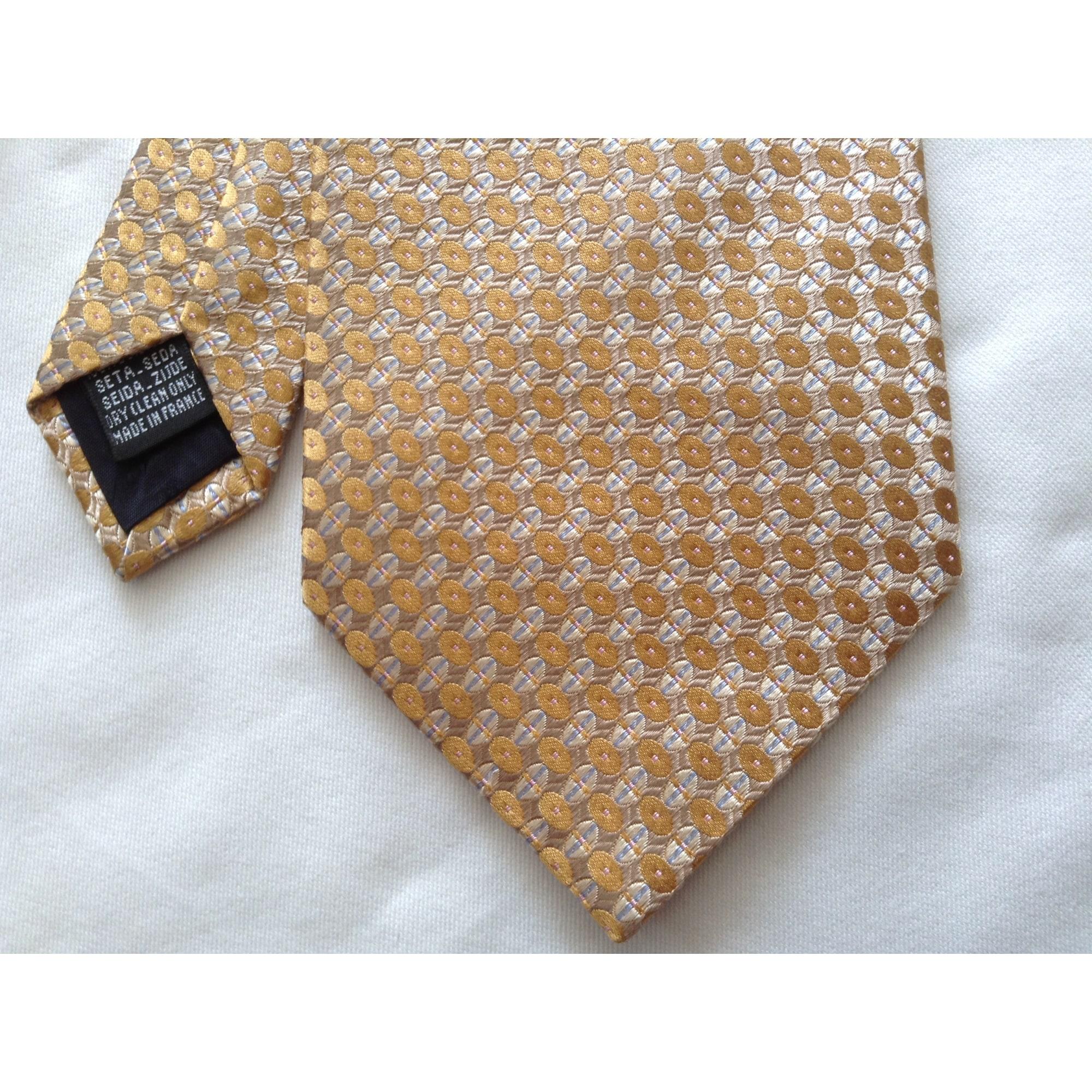 Cravate ROCHAS Doré, bronze, cuivre