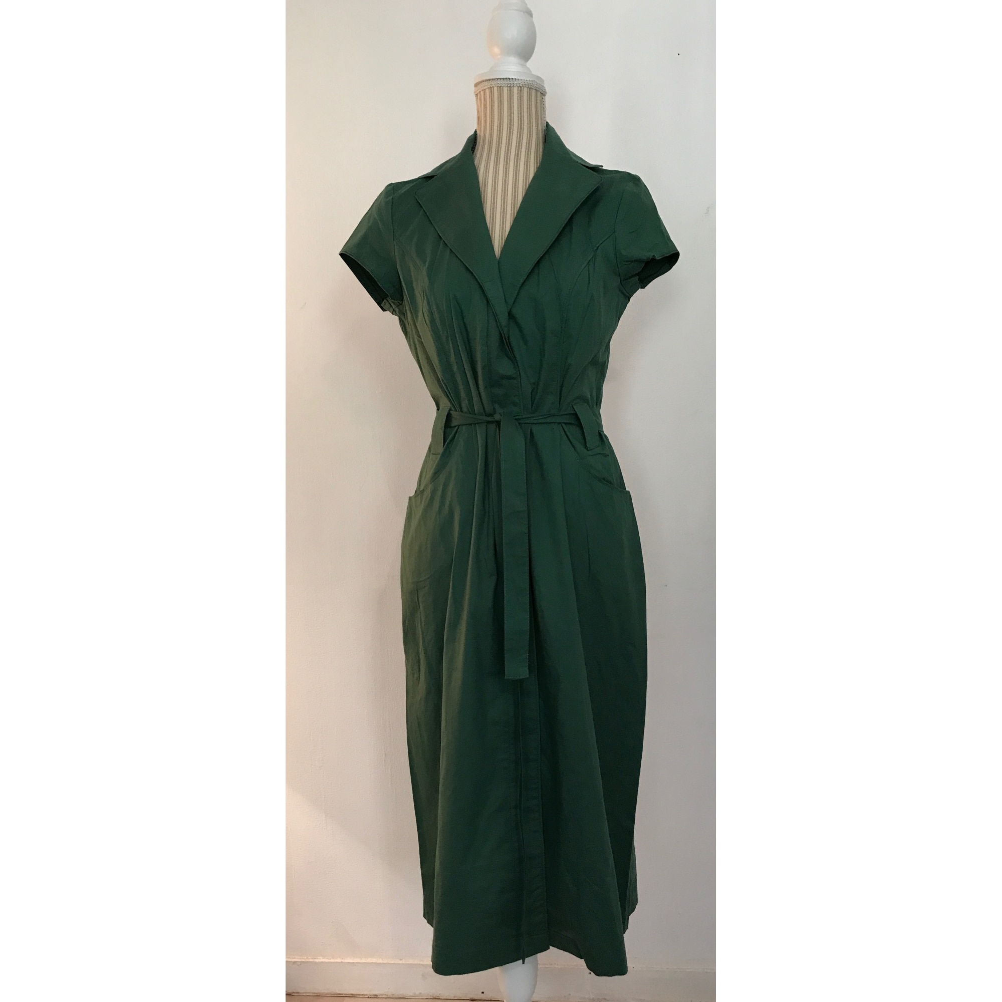 Robe Longue Jacqueline Riu 36 S T1 Vert Vendu Par Nana S Dress In 6733835