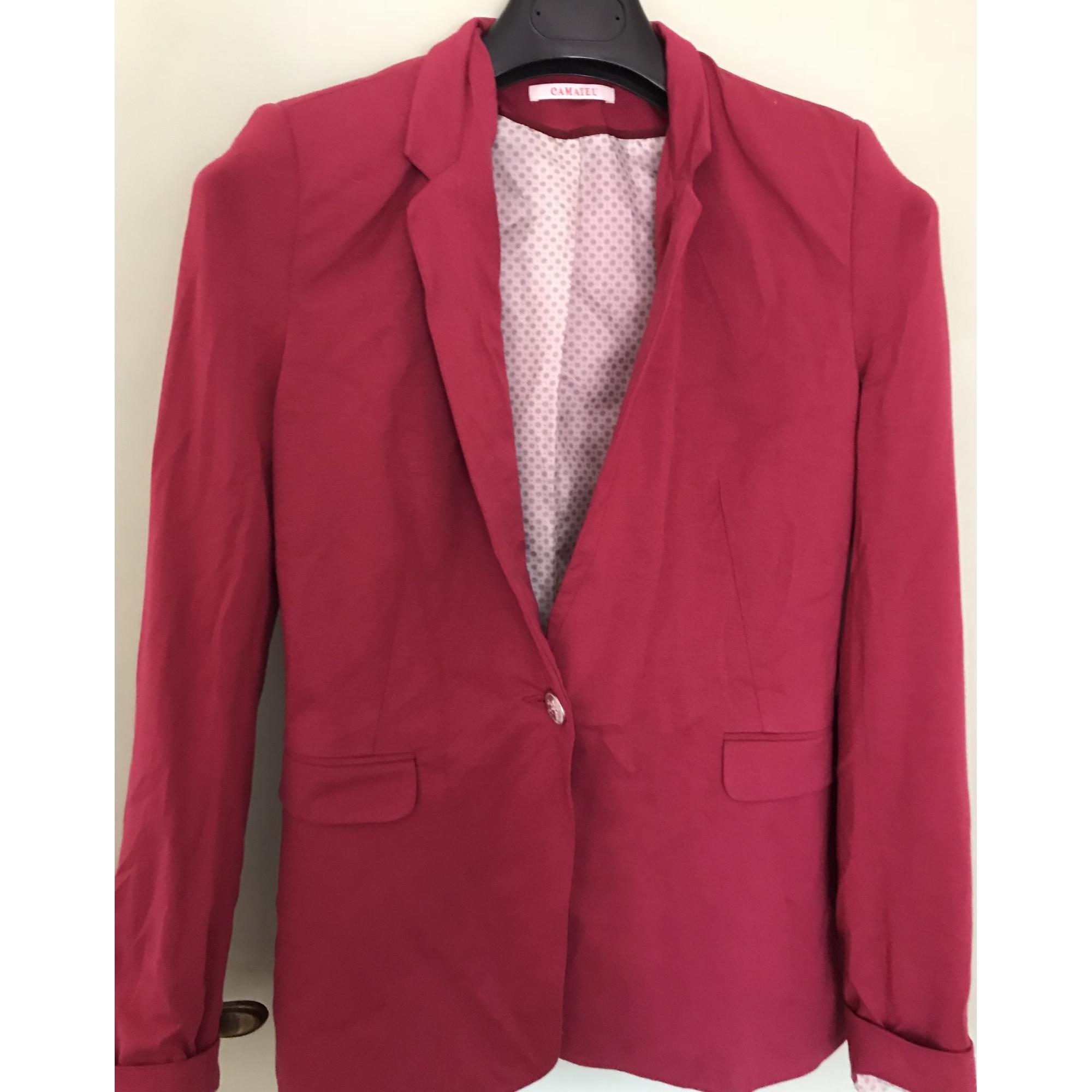 Blazer, veste tailleur CAMAIEU 38 (M, T2) rose 6775359