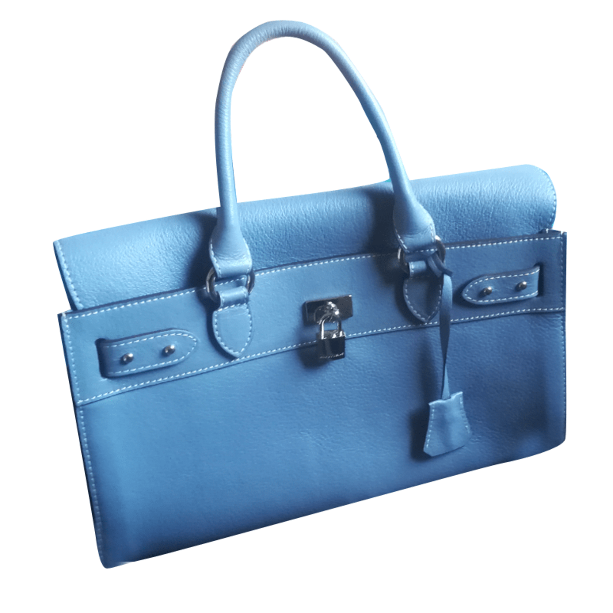 sac mac douglas d'occasion bleu turquoise
