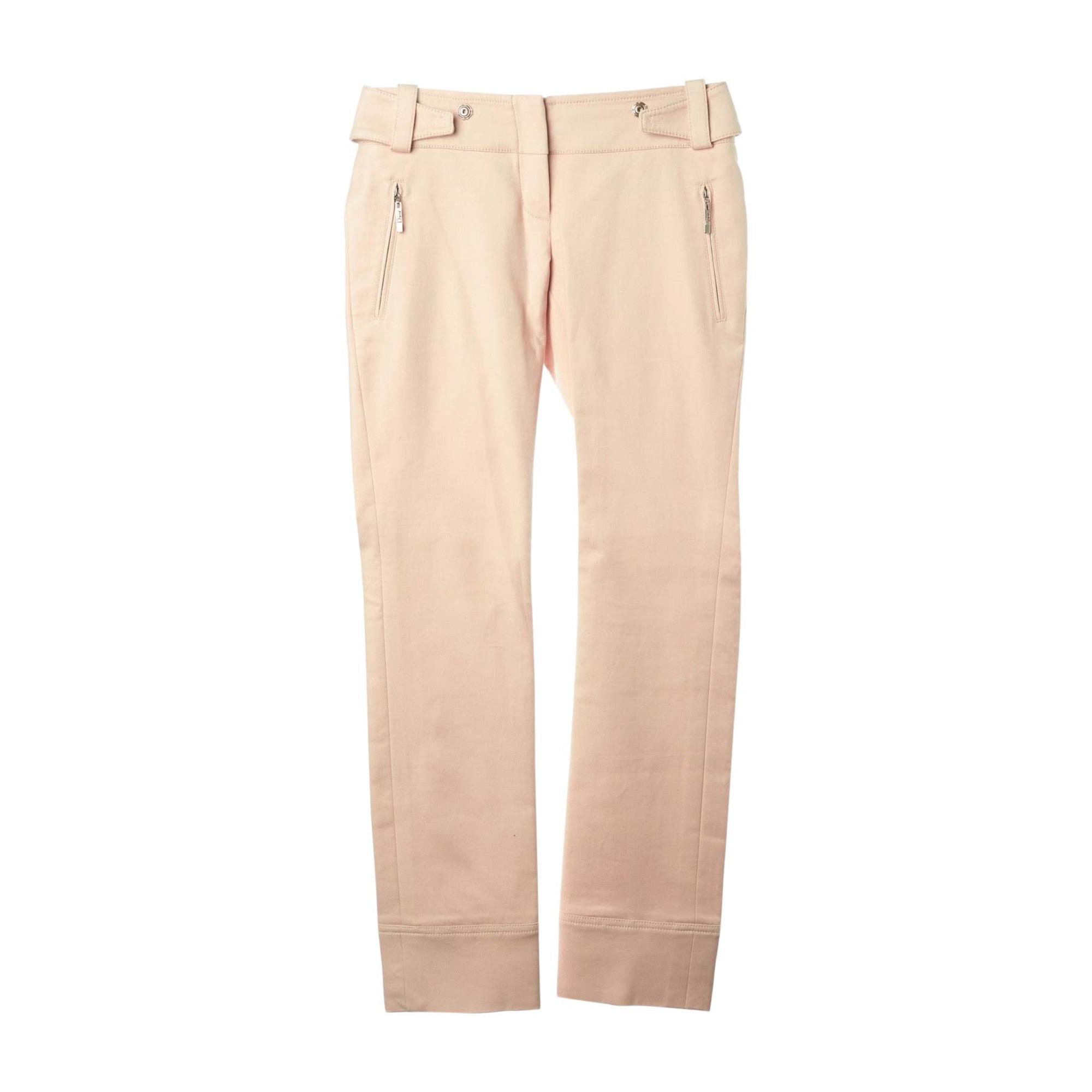 Pantalon droit DIOR Beige, camel