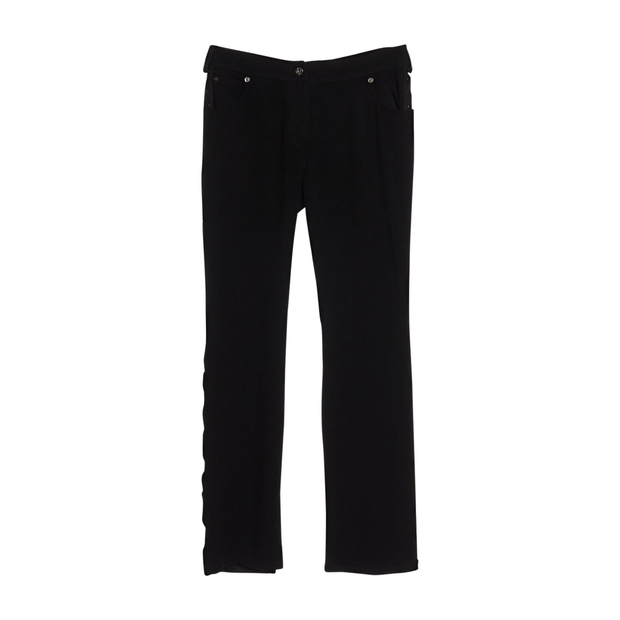 Pantalon droit DIOR Noir