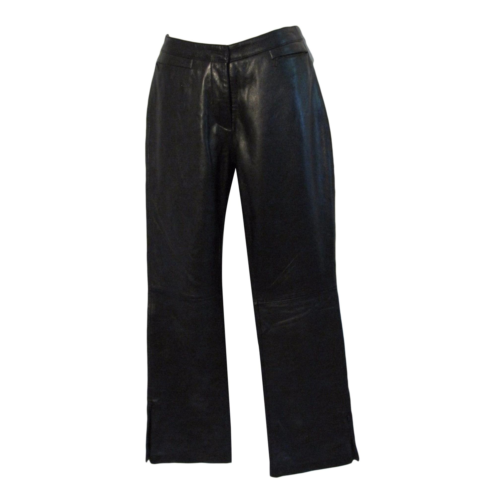 Pantalon slim, cigarette TOMMY HILFIGER Noir