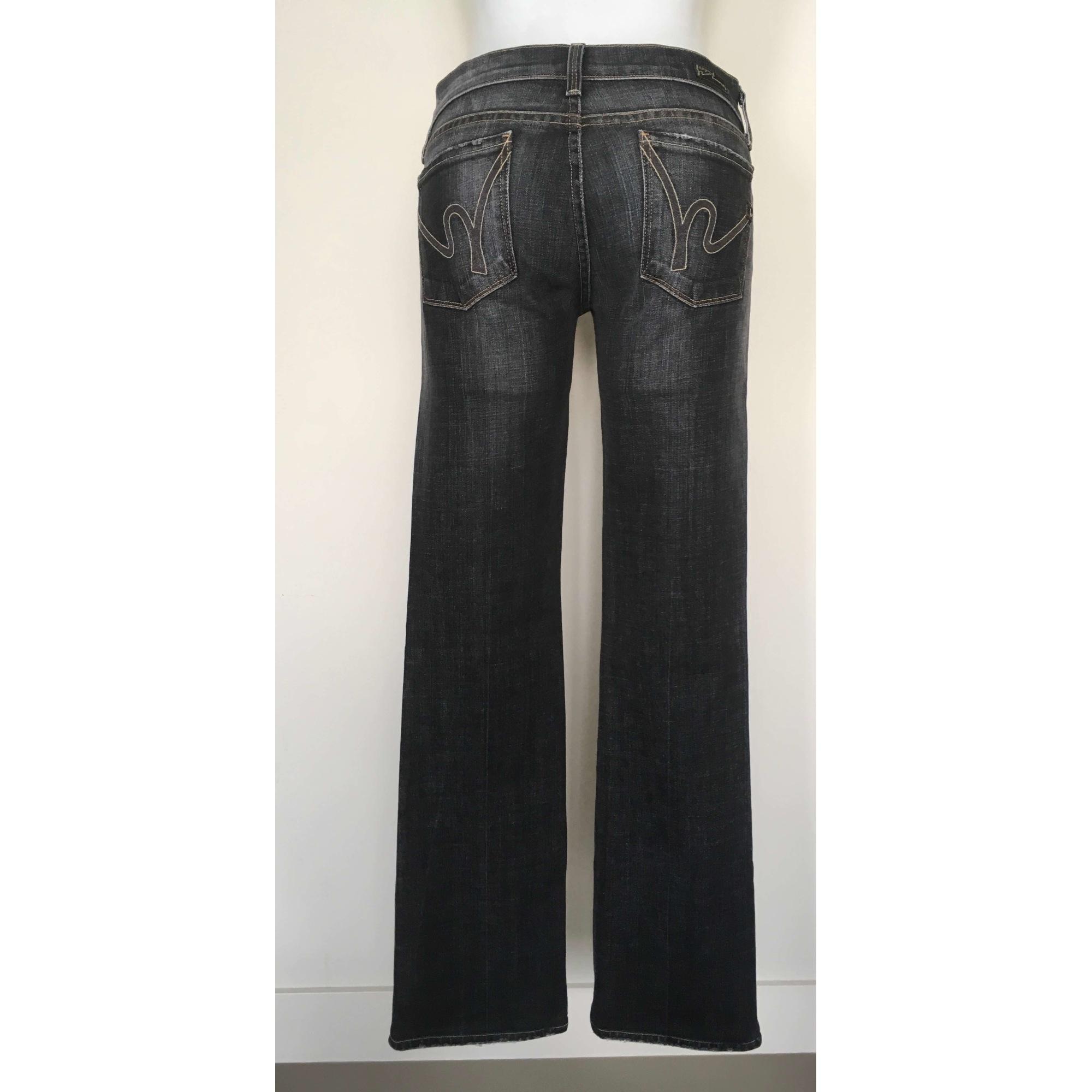 Jeans évasé, boot-cut CITIZENS OF HUMANITY Noir