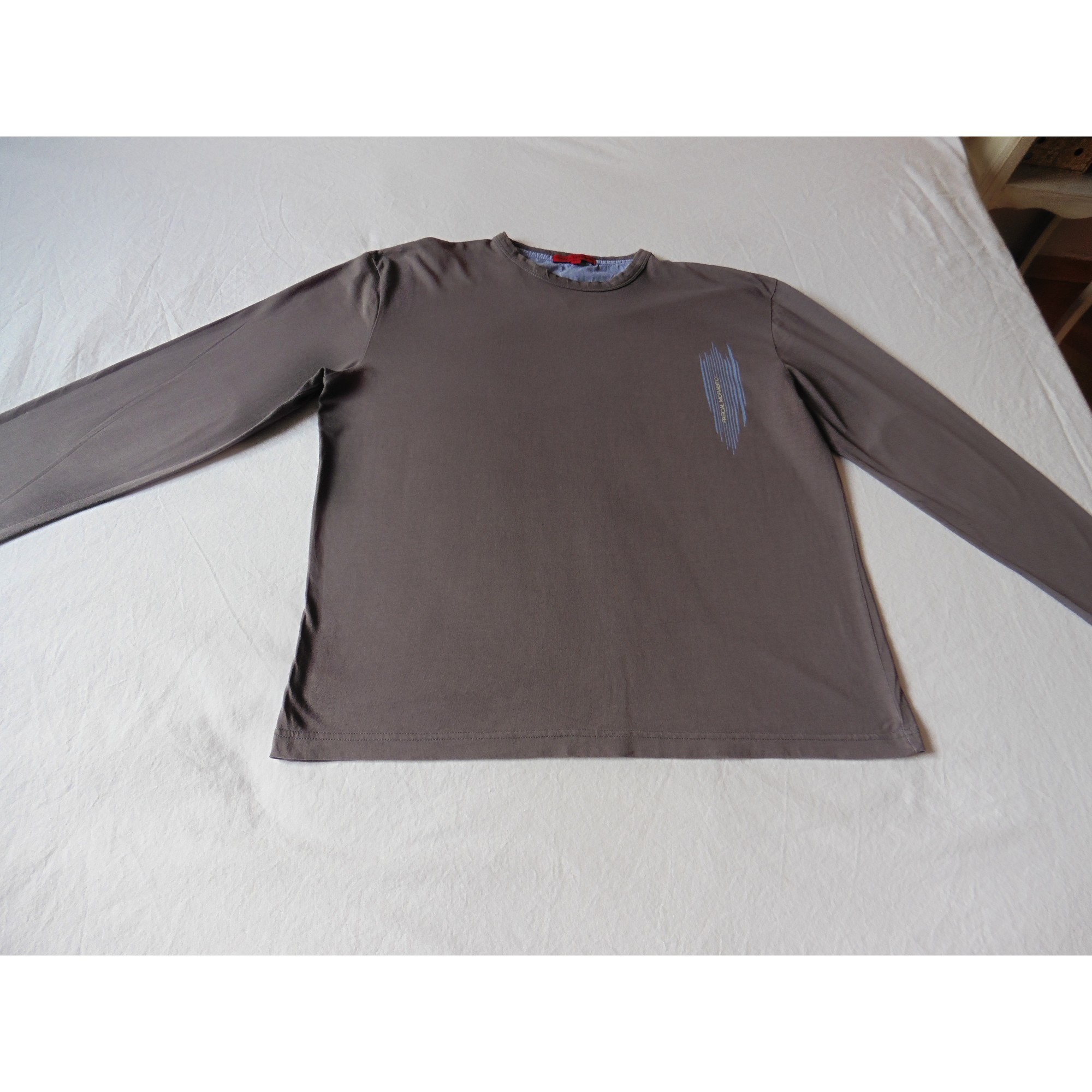 Tee-shirt PASCAL MORABITO Gris, anthracite