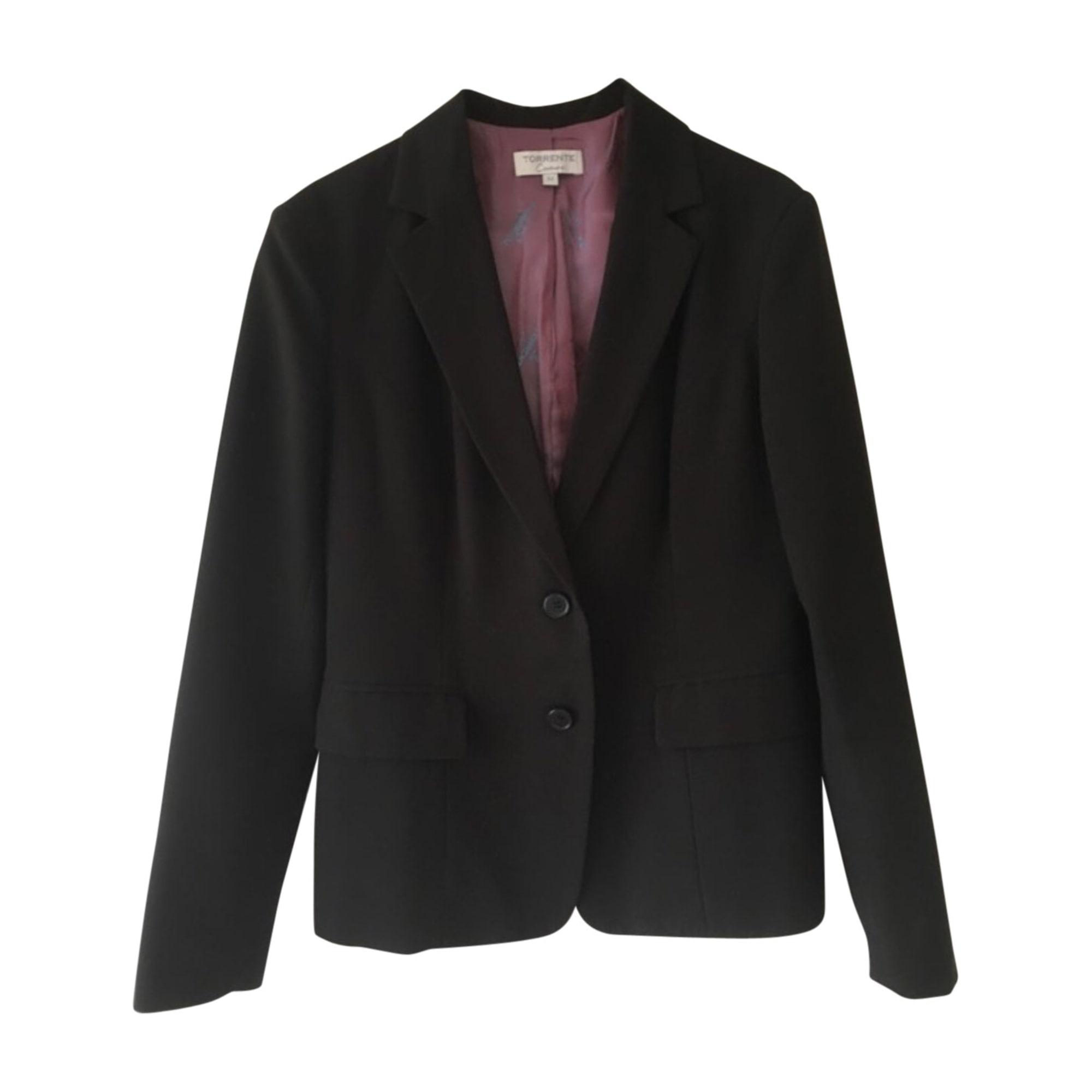 Blazer, veste tailleur TORRENTE 44 (XLXXL, T5) noir 6900773