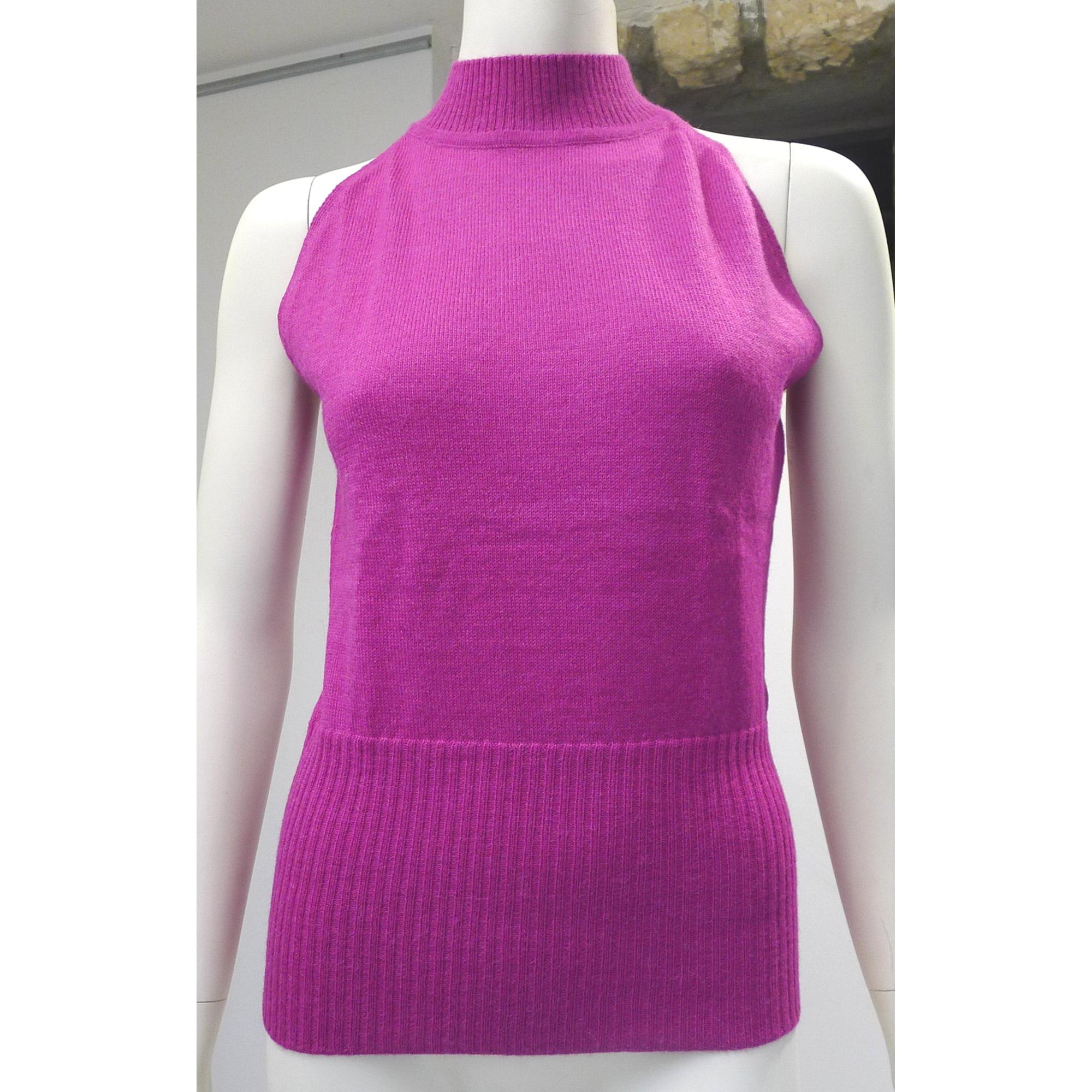 Top, tee-shirt PROSUR Violet, mauve, lavande