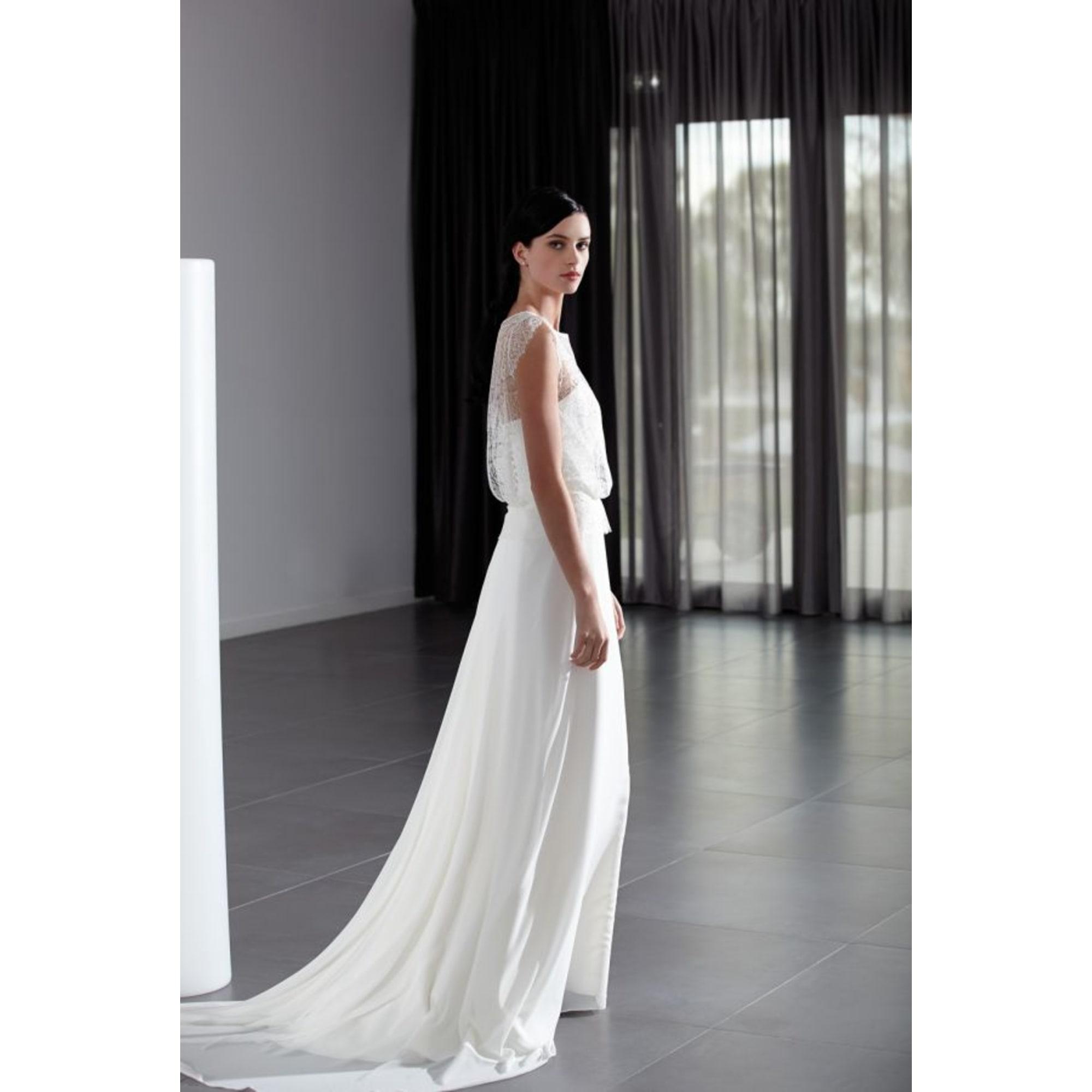 Robe de mariée CRÉATION BOCHET 38 (M, T2)
