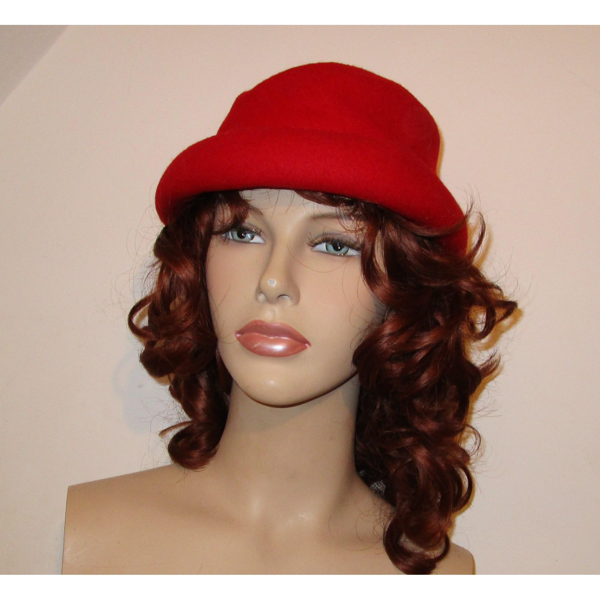 Chapeau 1.2.3 Rouge, bordeaux