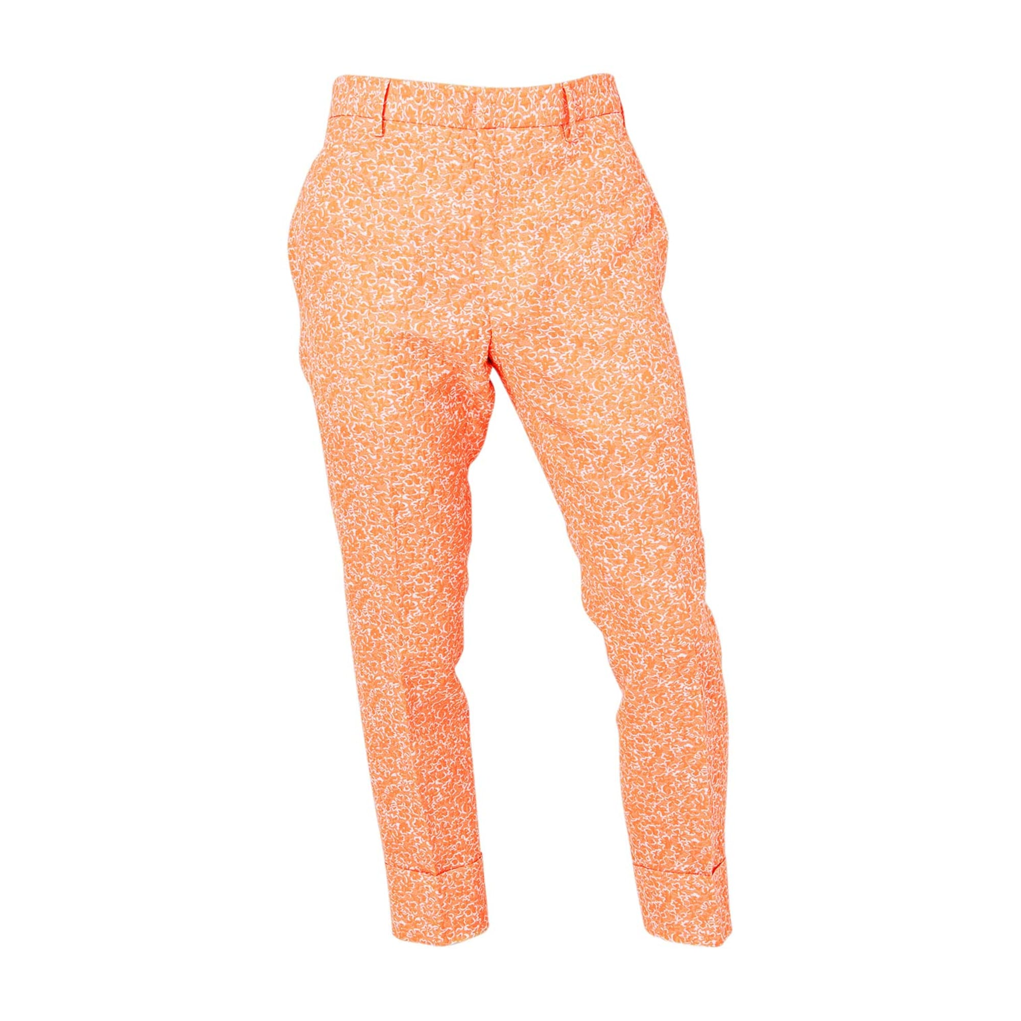 Pantalon droit JIL SANDER Orange