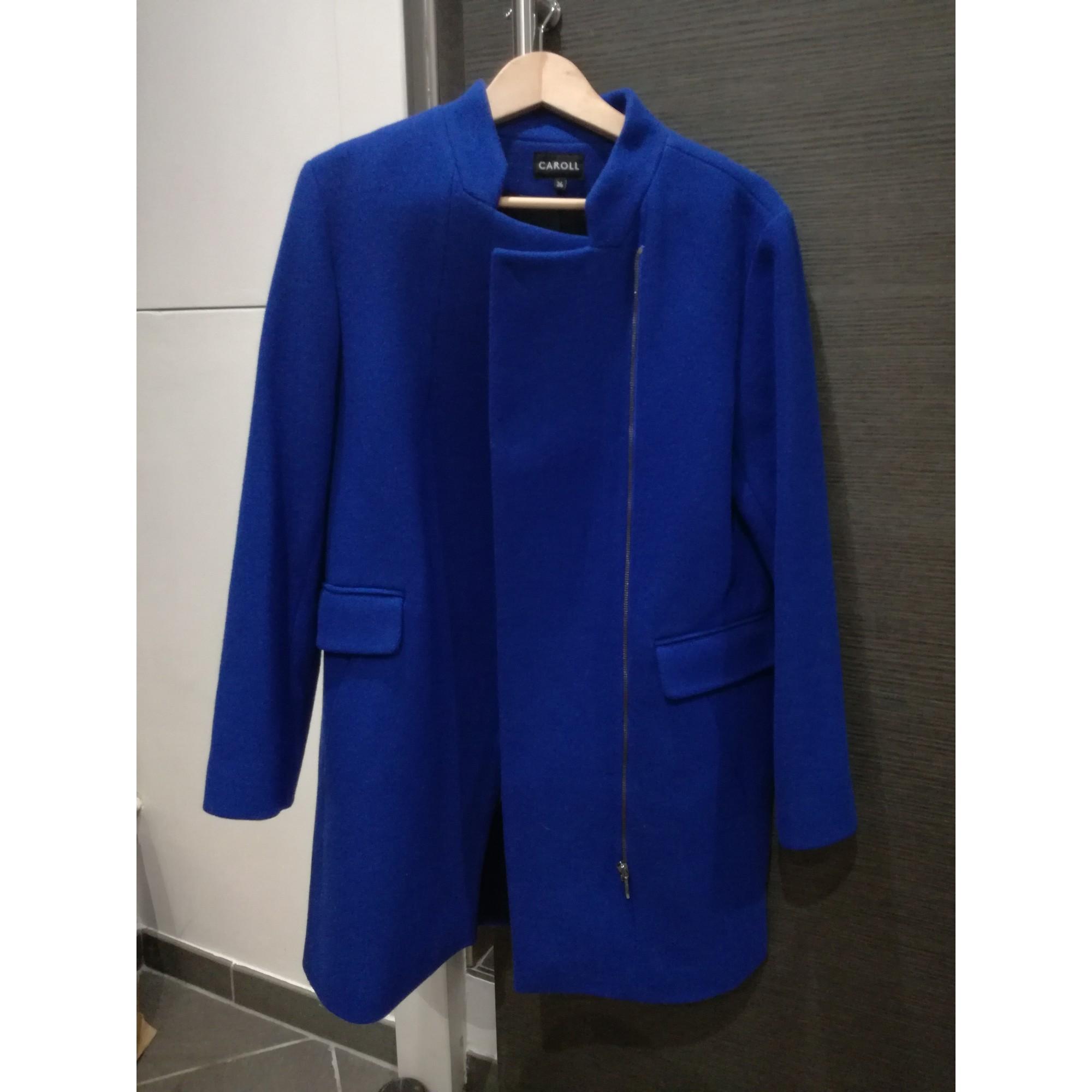 Manteau CAROLL 36 (S, T1) bleu 7008438