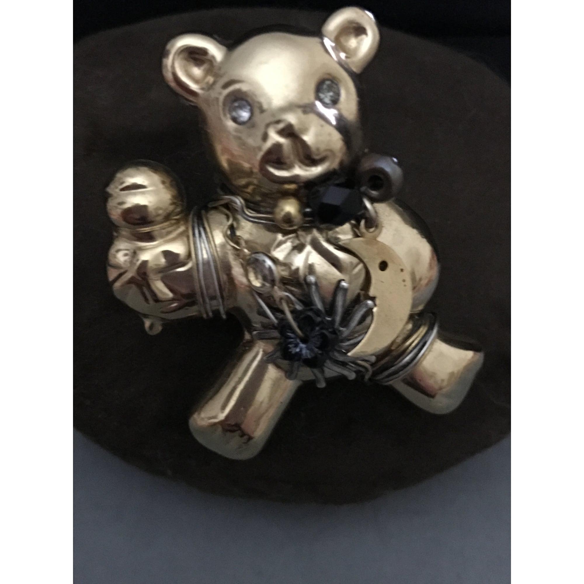 Broche GAS BIJOUX Doré, bronze, cuivre