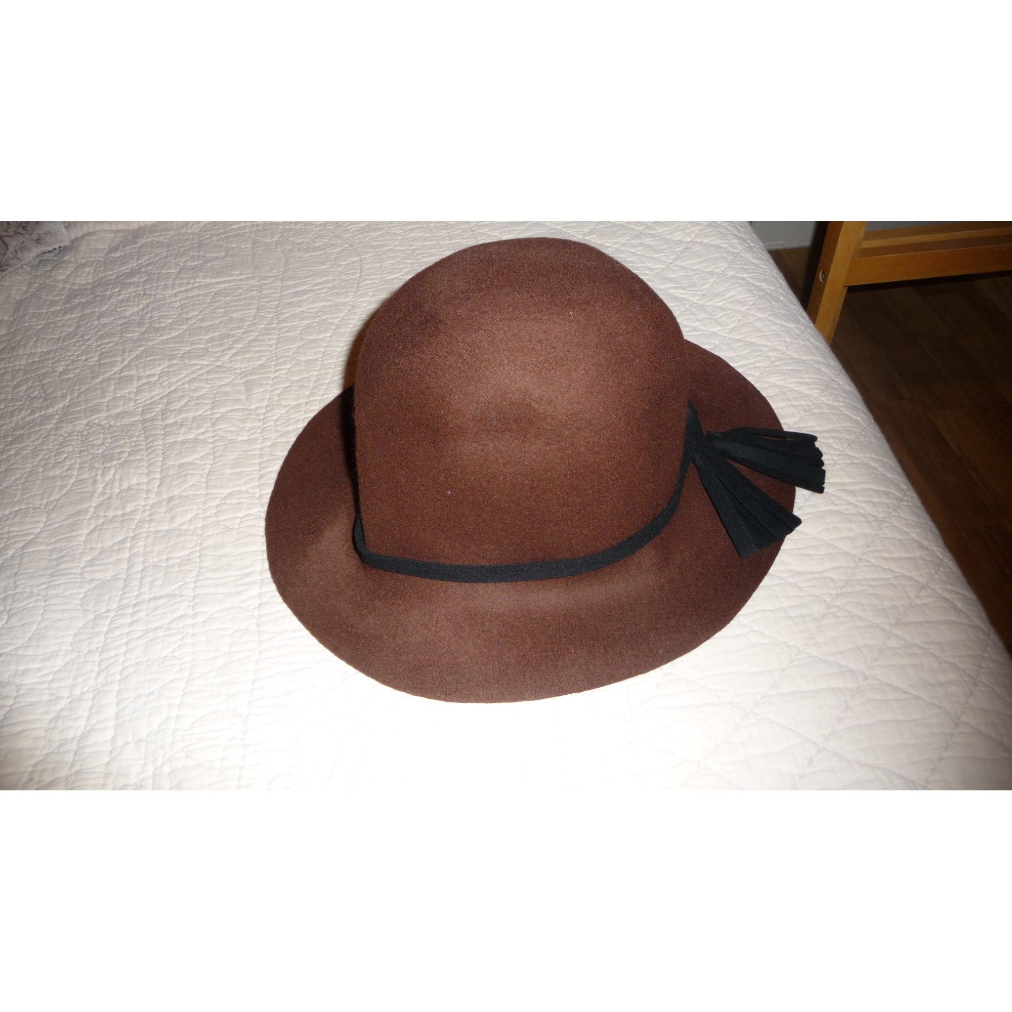 Chapeau SOMEWHERE Marron