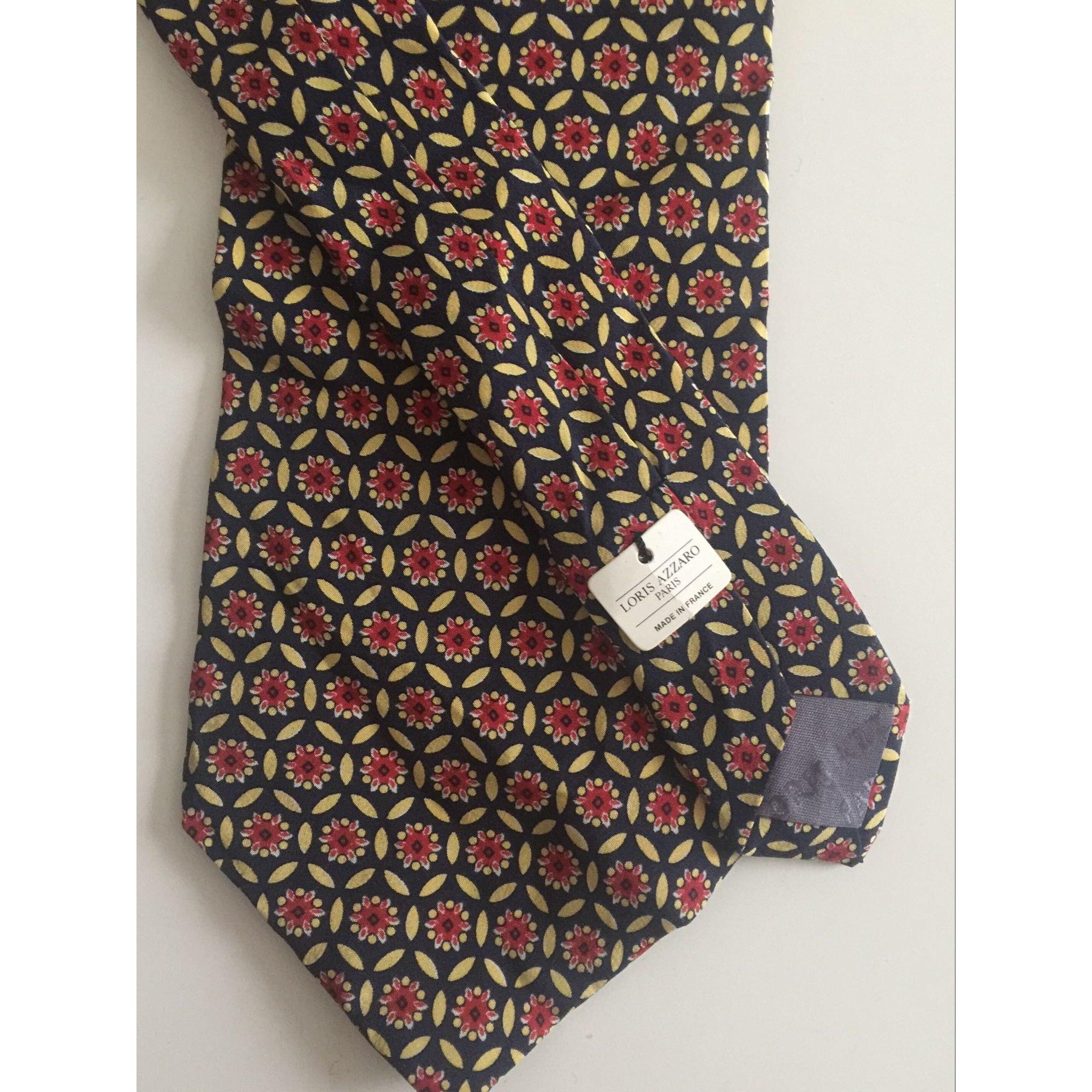 Cravate LORIS AZZARO Multicouleur