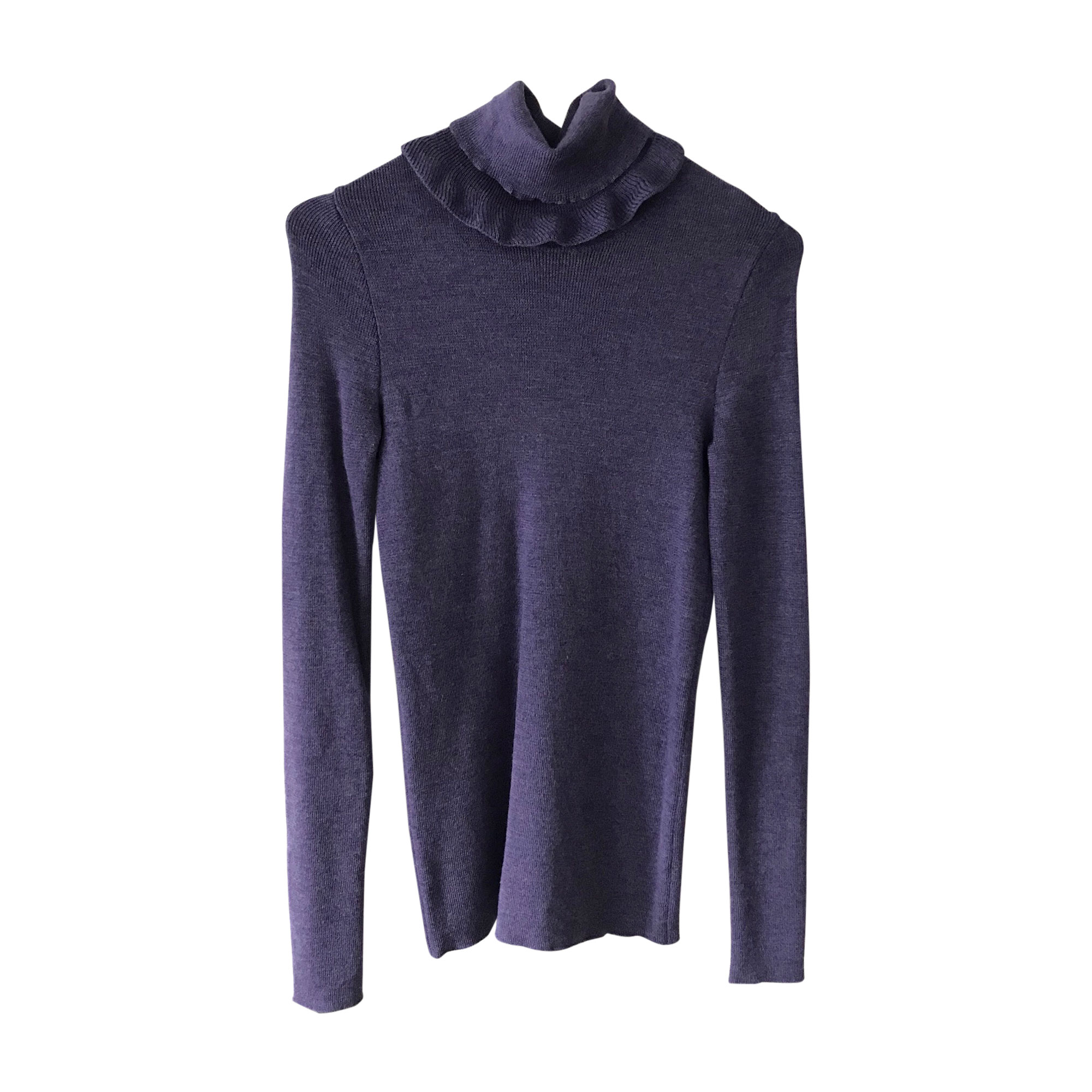 Pull MOSCHINO Violet, mauve, lavande