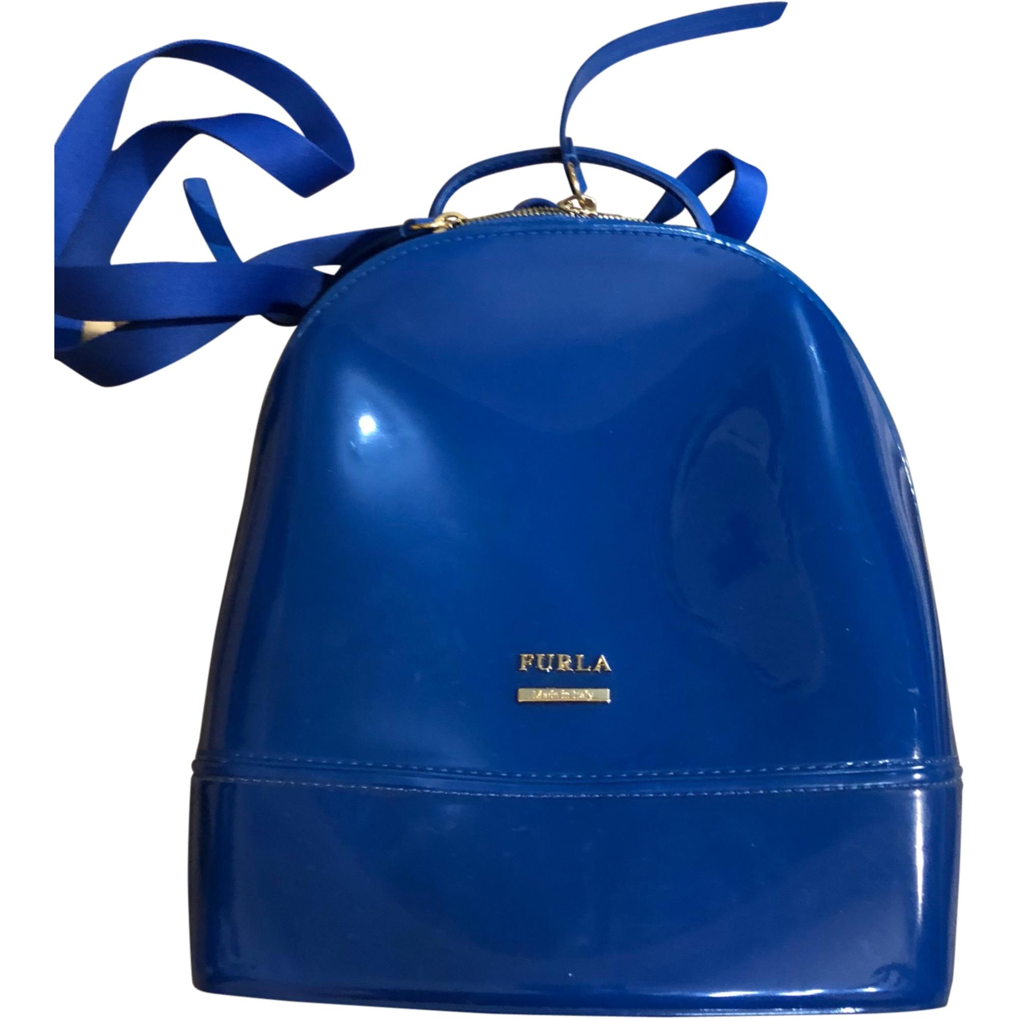 Sac à dos FURLA Bleu, bleu marine, bleu turquoise