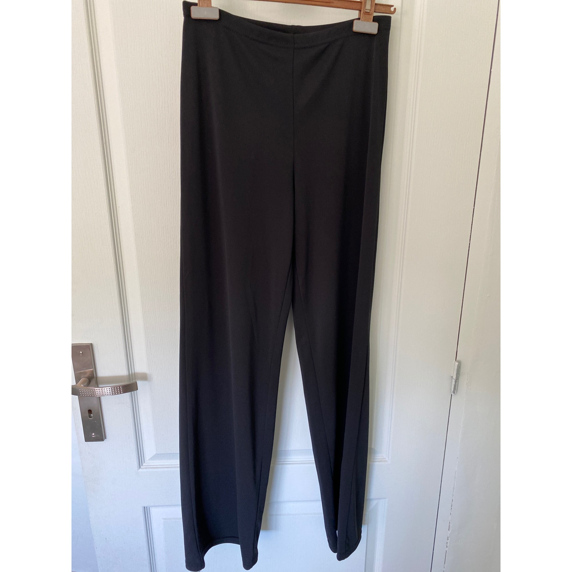Pantalon évasé FAUST Noir