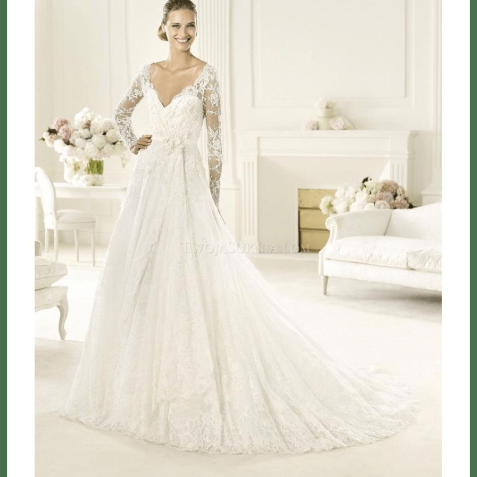 Robe de mariée ELIE SAAB 38 (M, T2) blanc