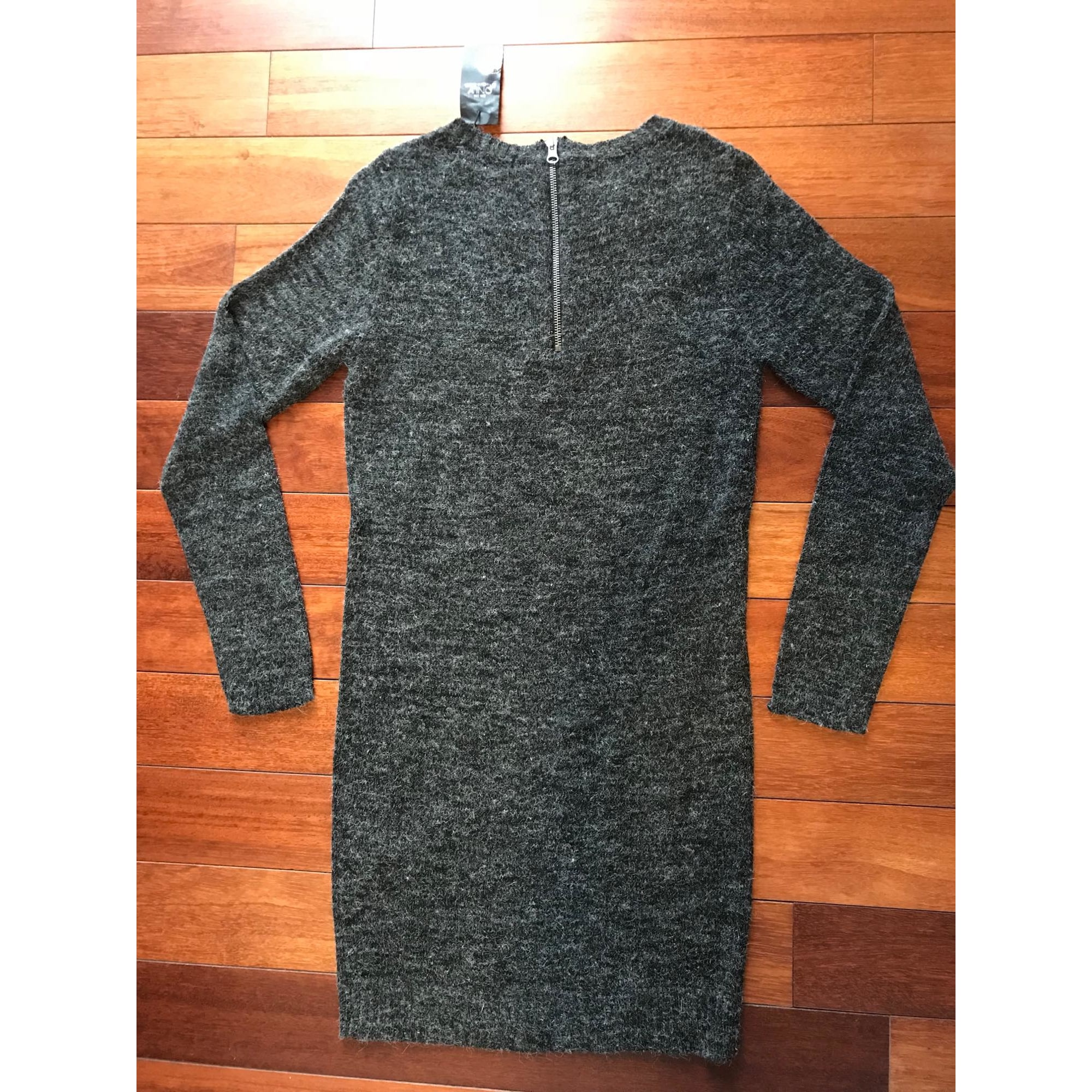 Robe pull ONLY Gris, anthracite
