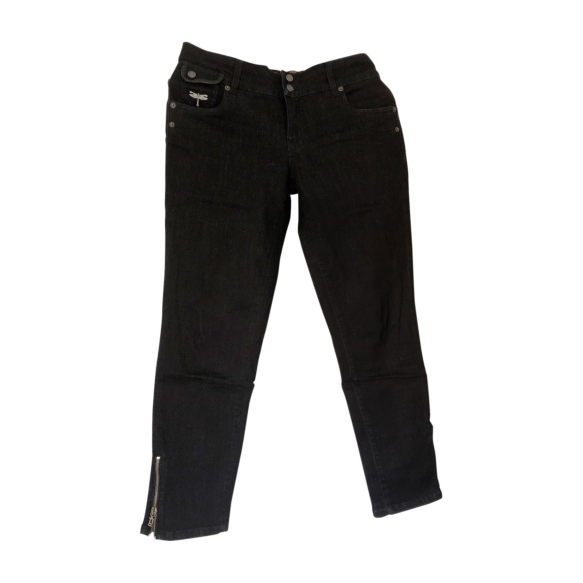 Jeans slim JOHN GALLIANO Noir