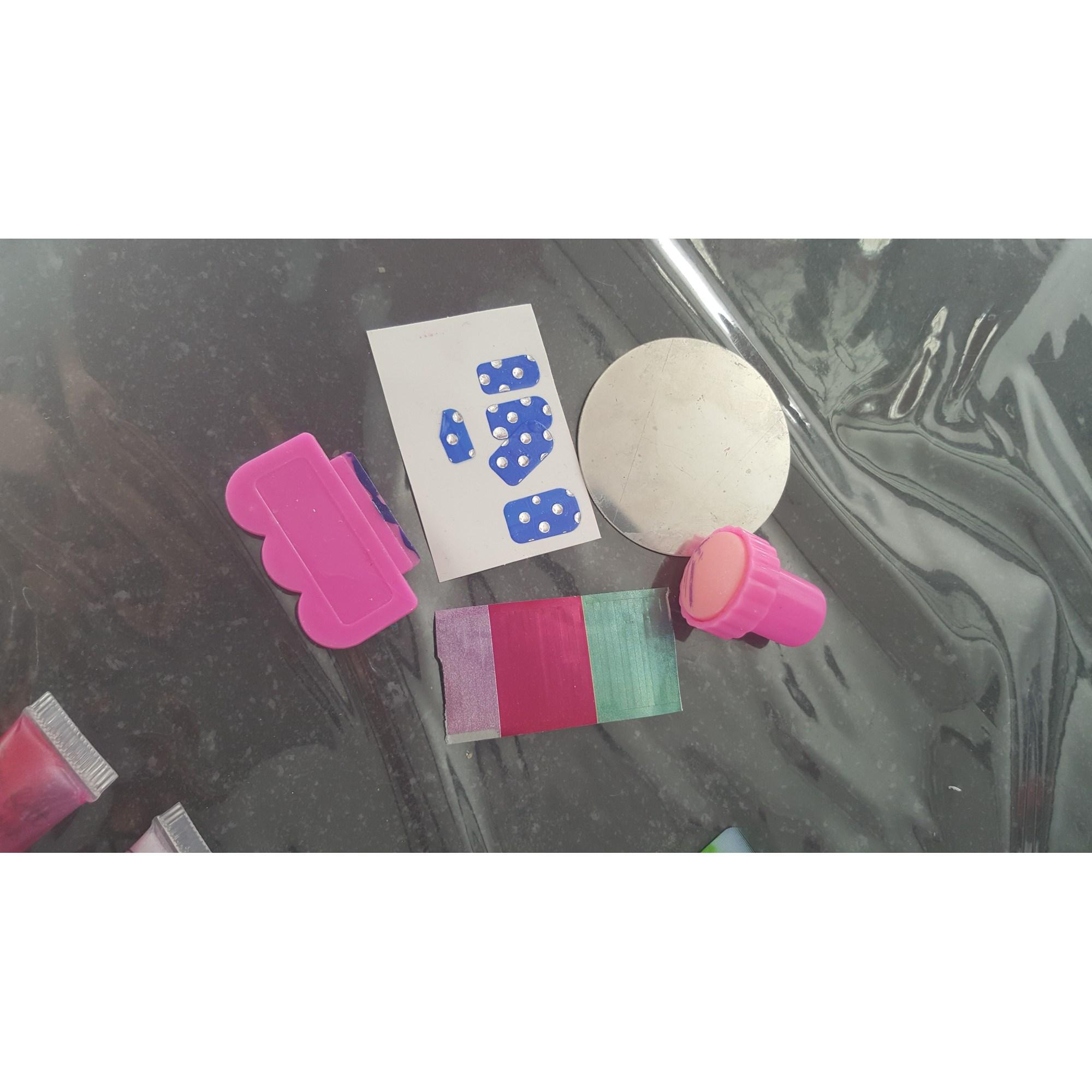 Kit de maquillage SOLEIL SUCRÉ bleu