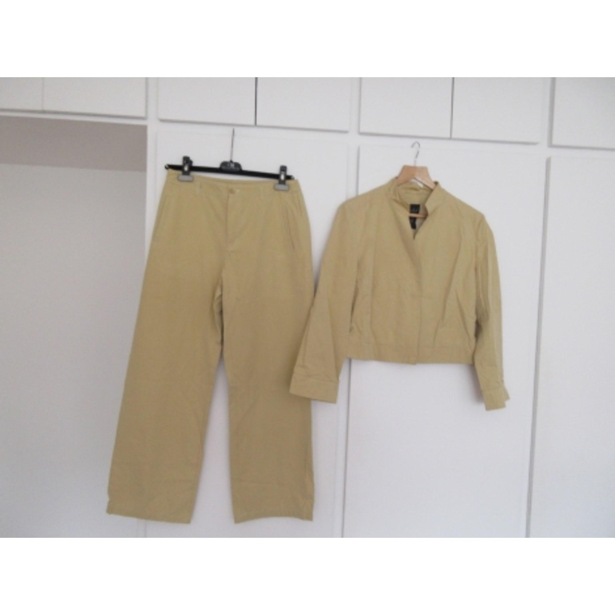 Tailleur pantalon OUI Jaune
