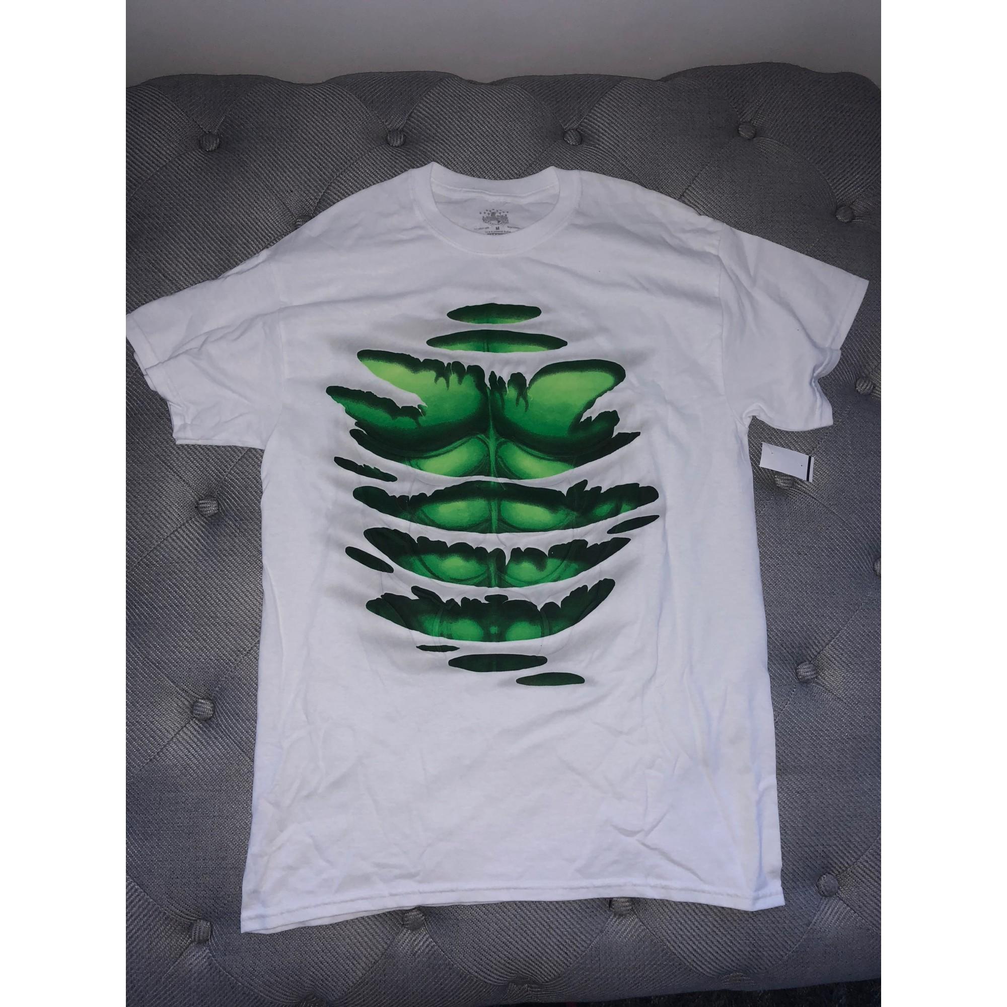 Tee-shirt MARVEL Blanc, blanc cassé, écru