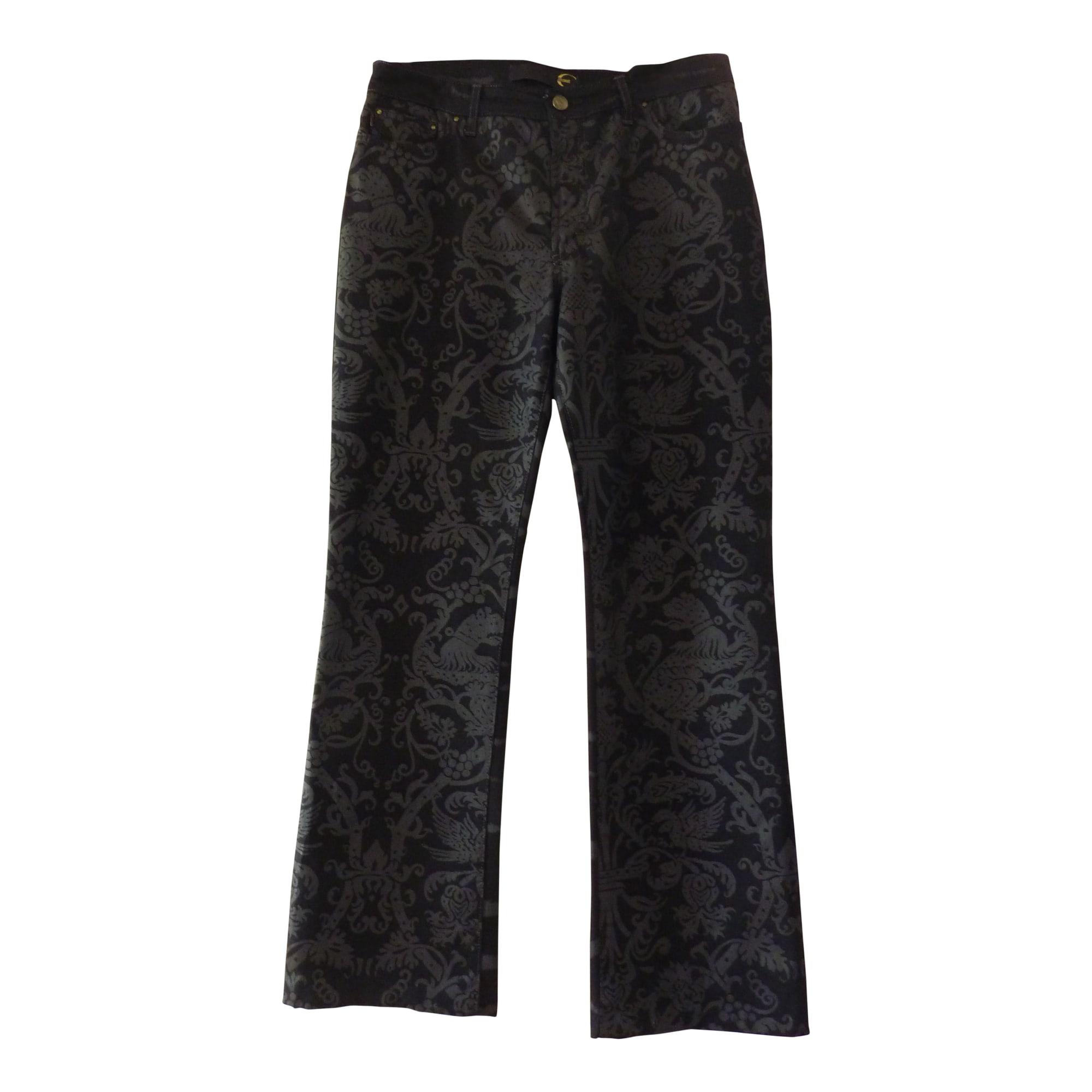 Jeans droit JUST CAVALLI Noir
