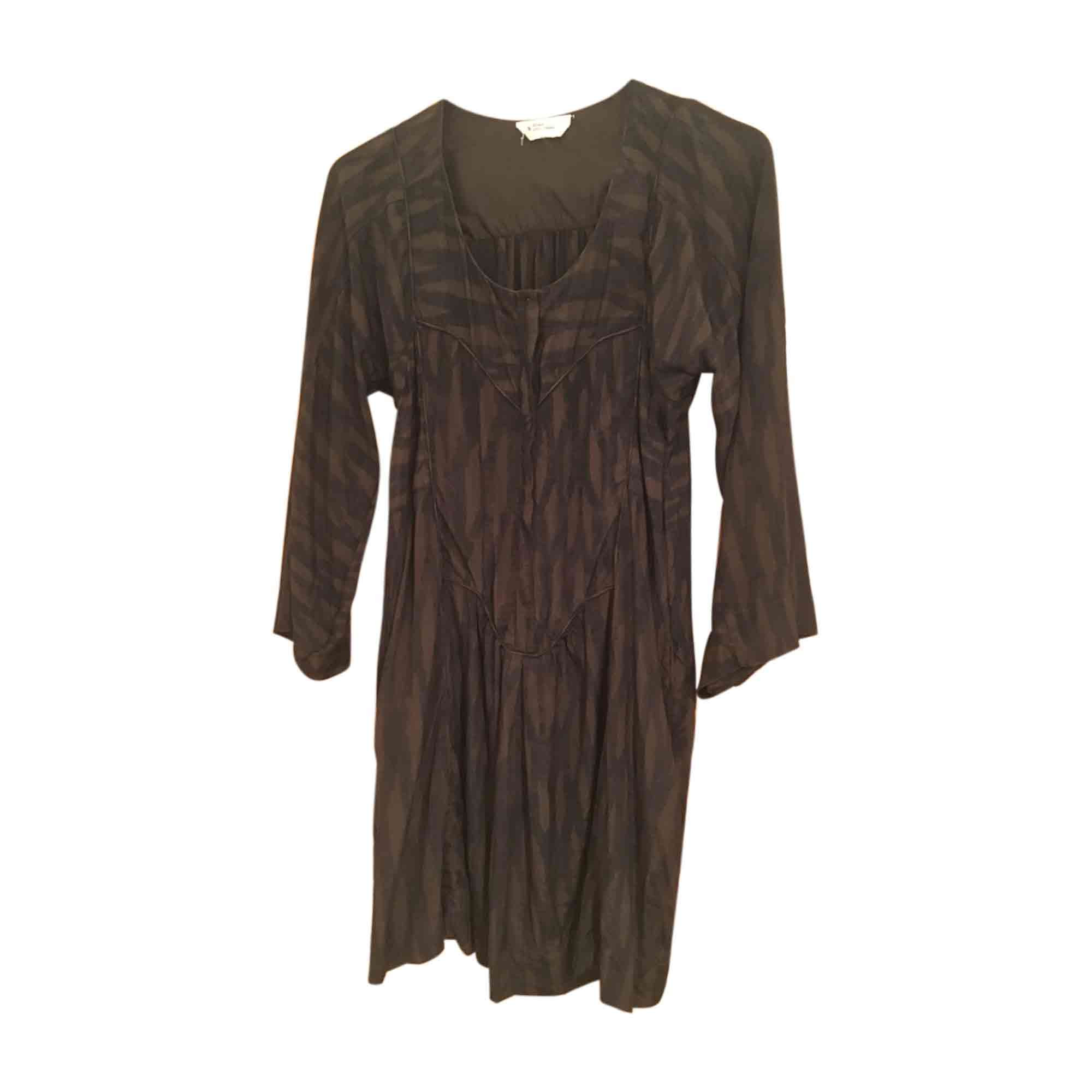 Robe tunique ISABEL MARANT ETOILE Marron