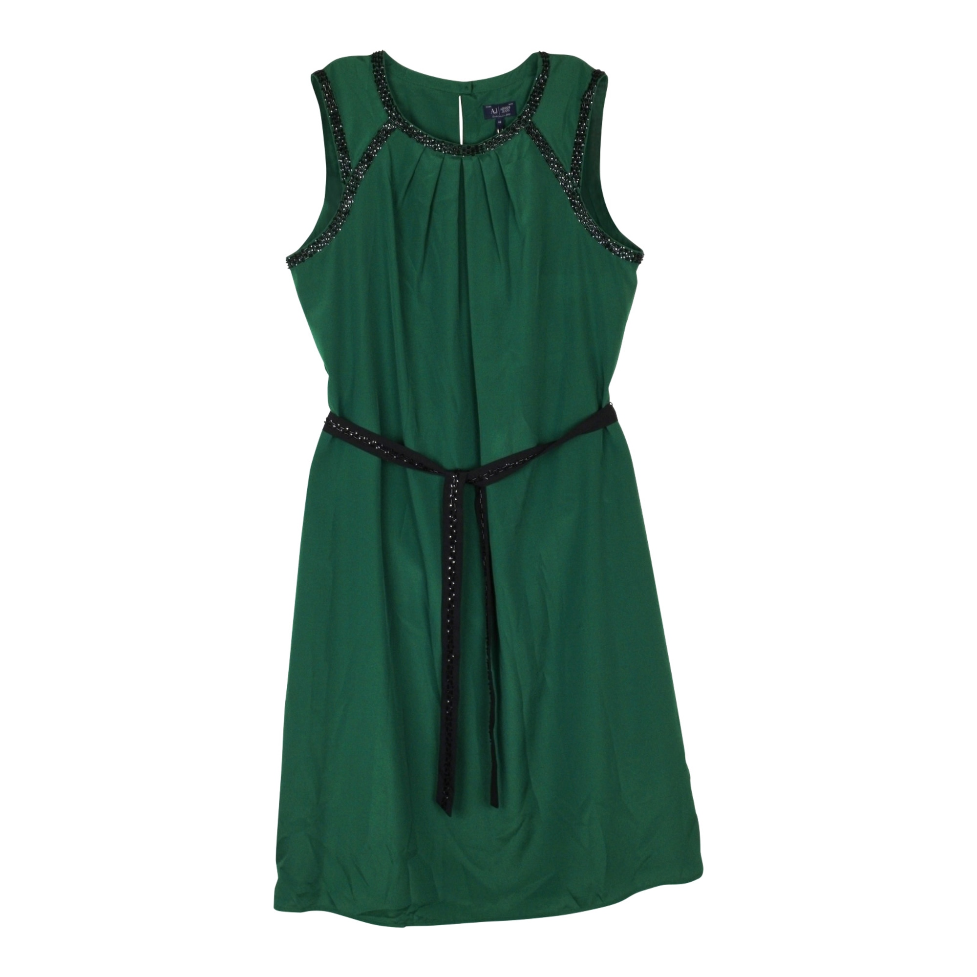 Robe mi-longue ARMANI JEANS Vert