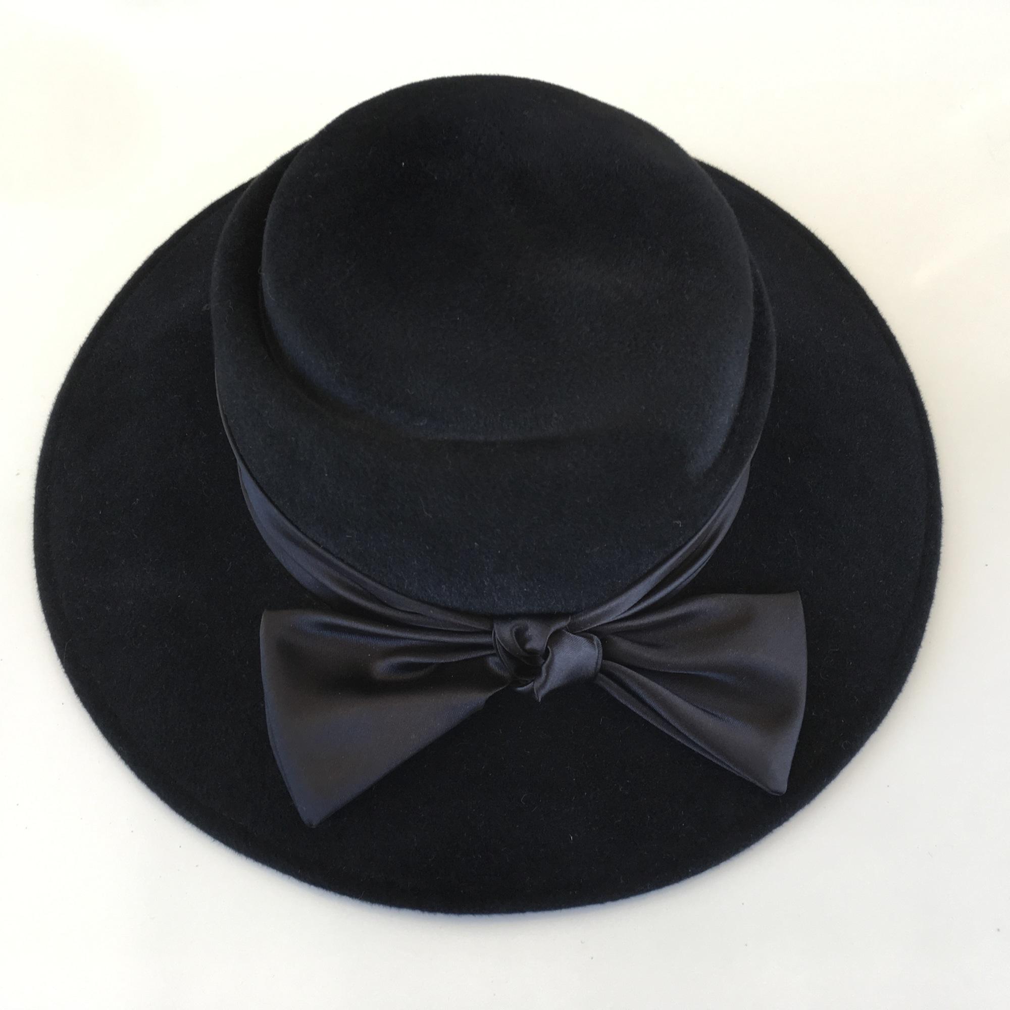 Chapeau VELOURSNOIR Noir