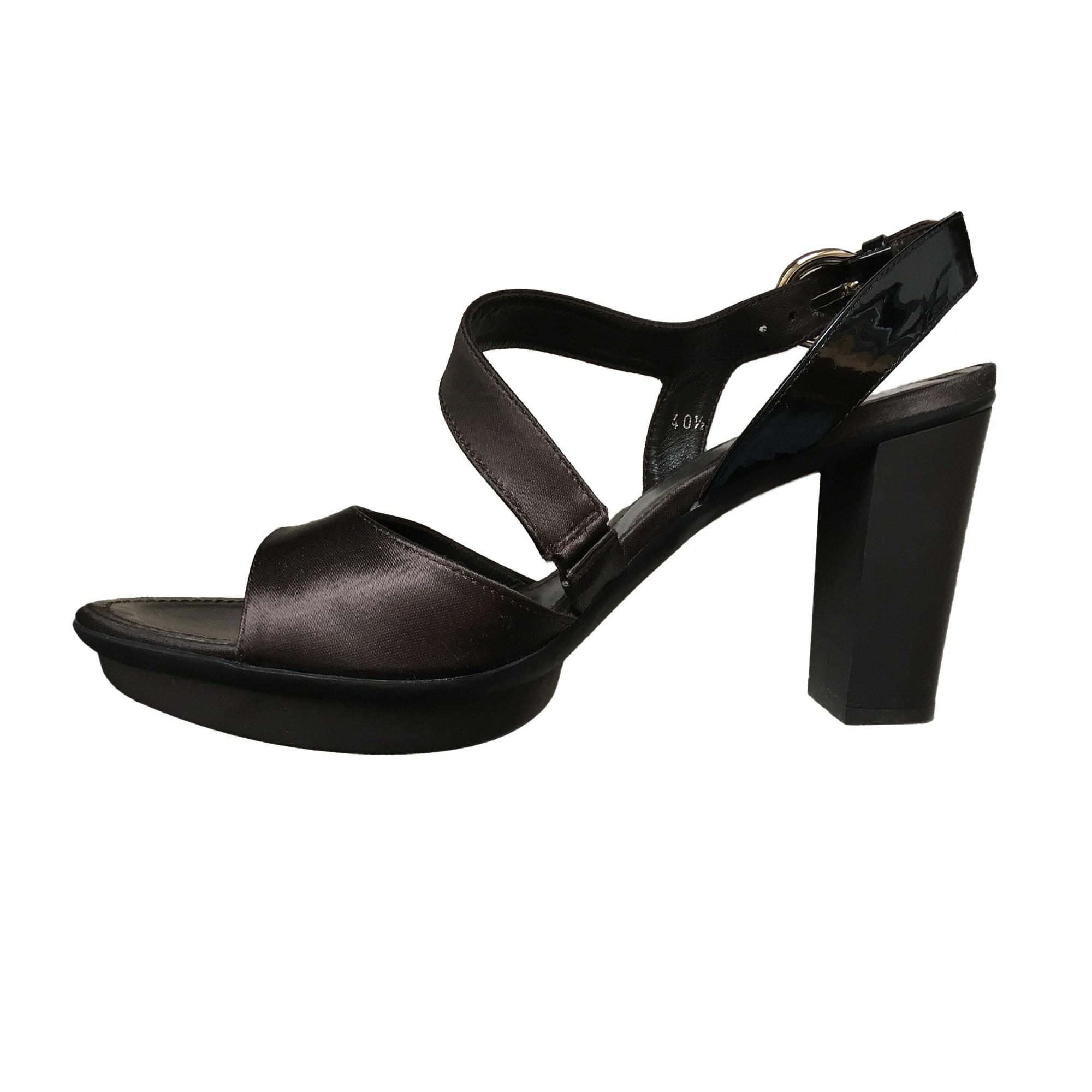 Sandales à talons HOGAN Marron