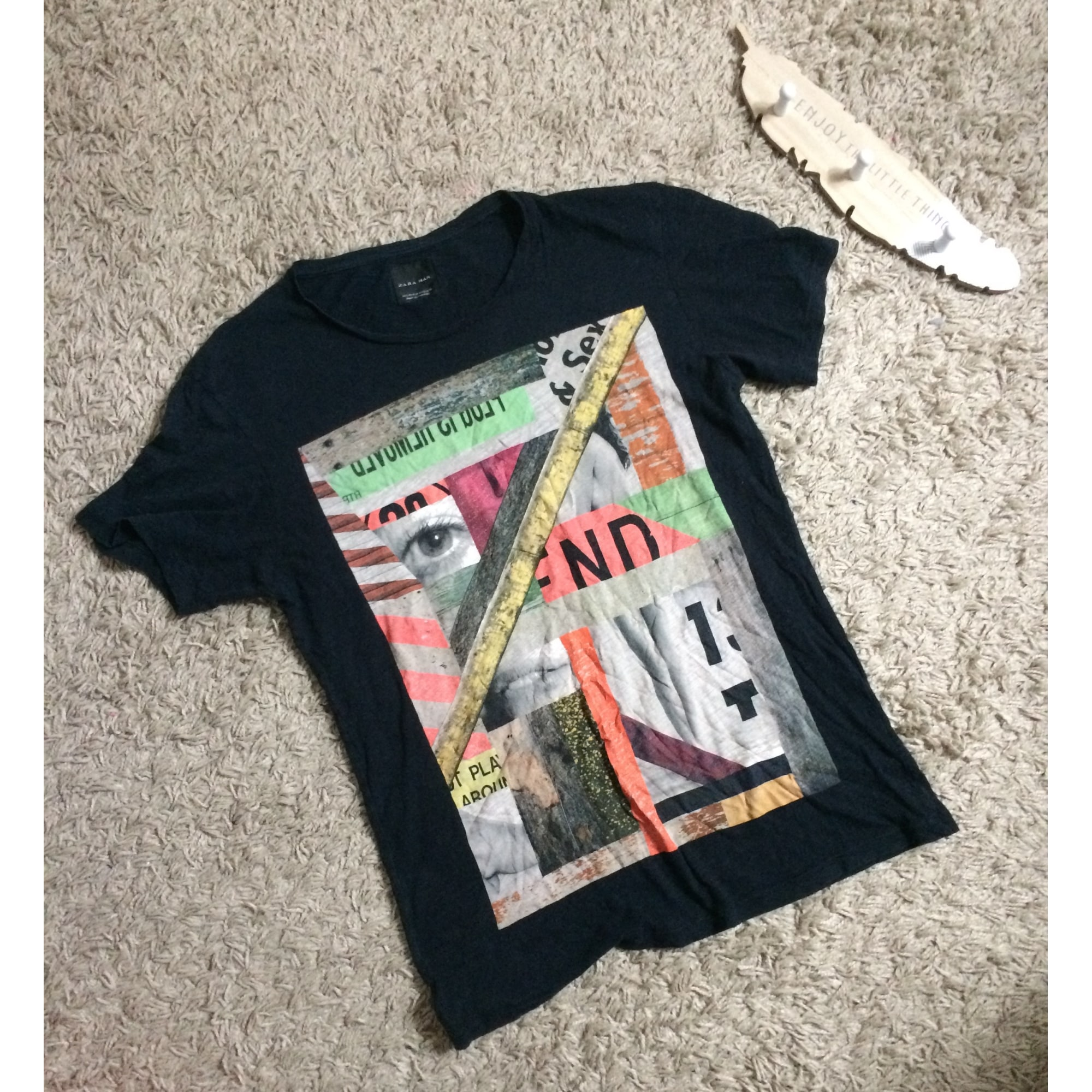 Tee-shirt ZARA Multicouleur