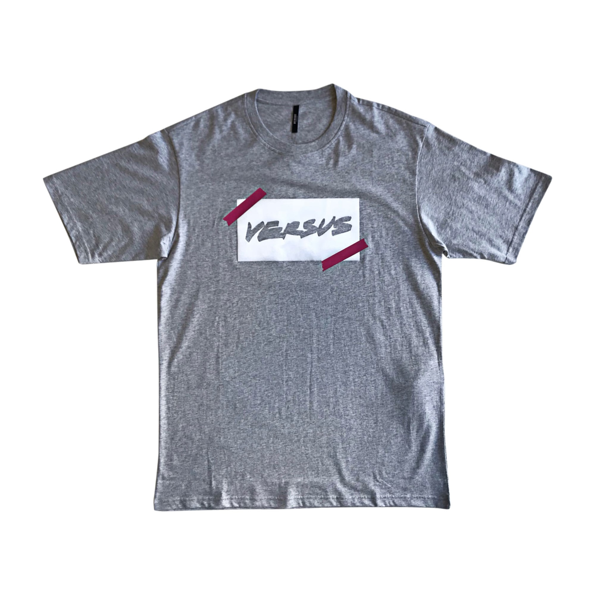 Tee-shirt VERSUS VERSACE Gris, anthracite