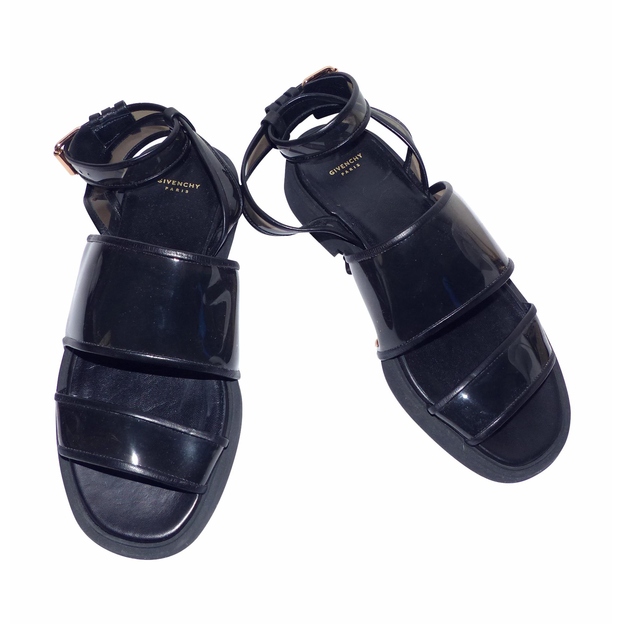 Sandales plates  GIVENCHY Noir