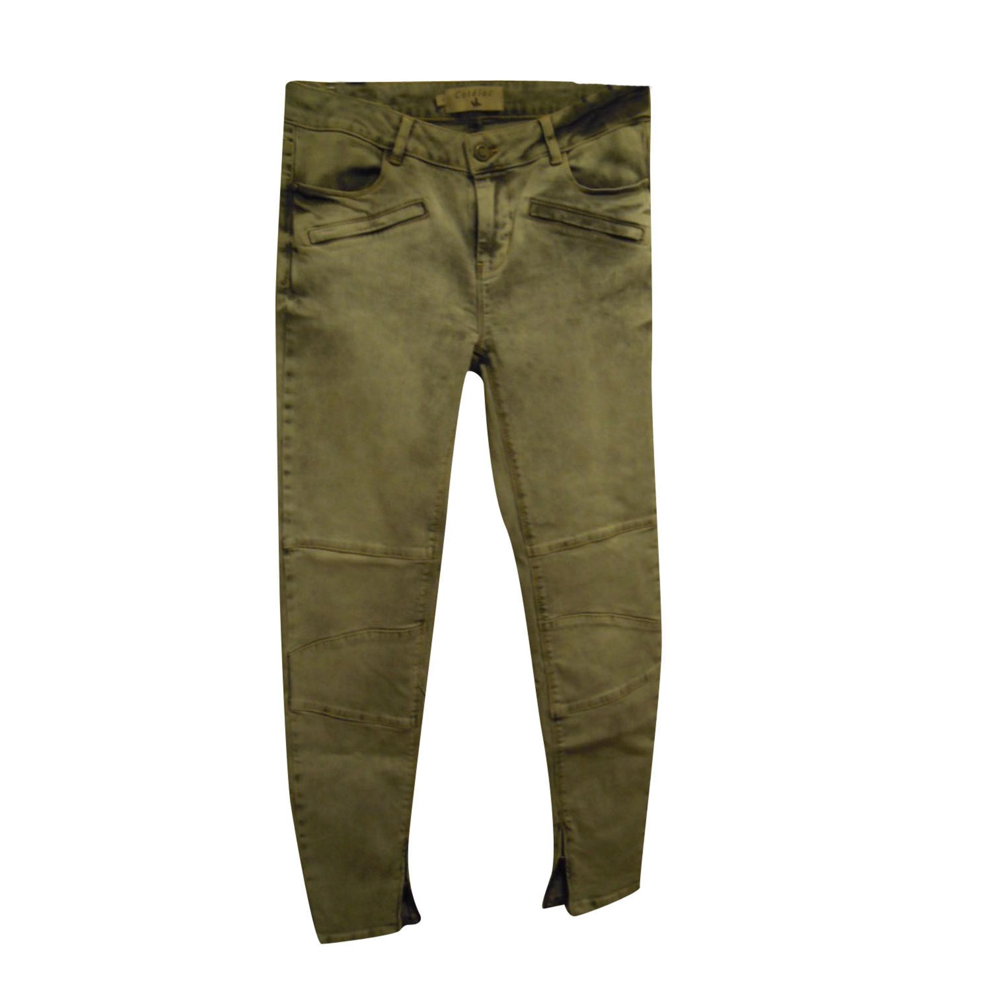 Jeans slim COTÉLAC Gris, anthracite