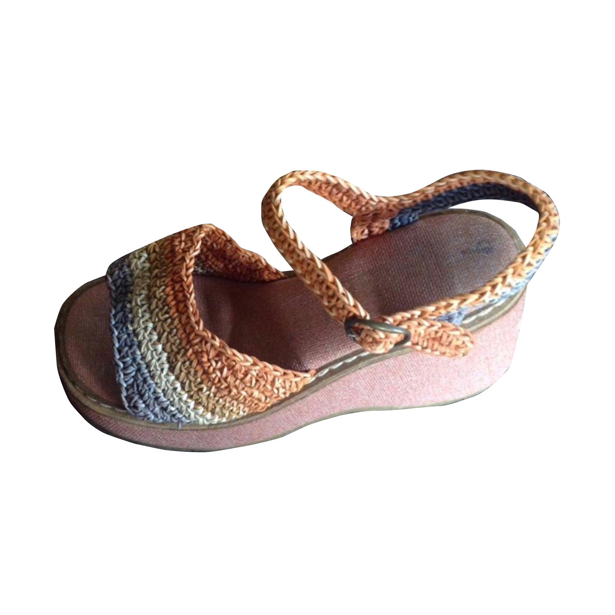 Sandales compensées DIESEL Multicouleur