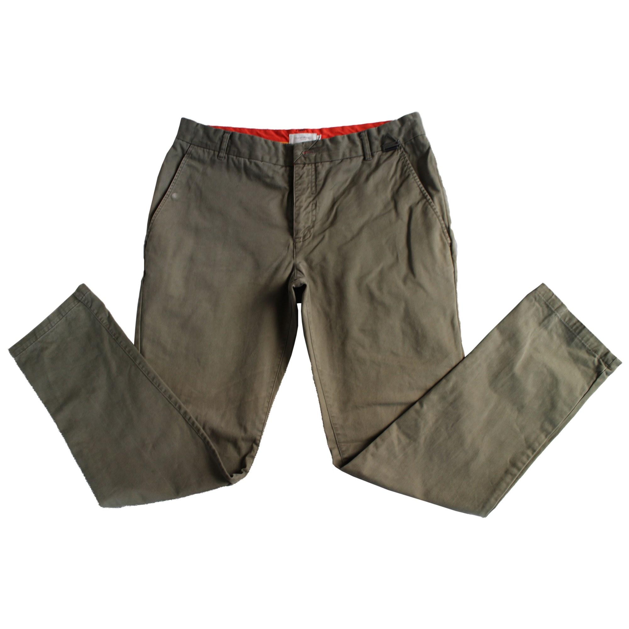 Pantalon droit ELEVEN PARIS Vert