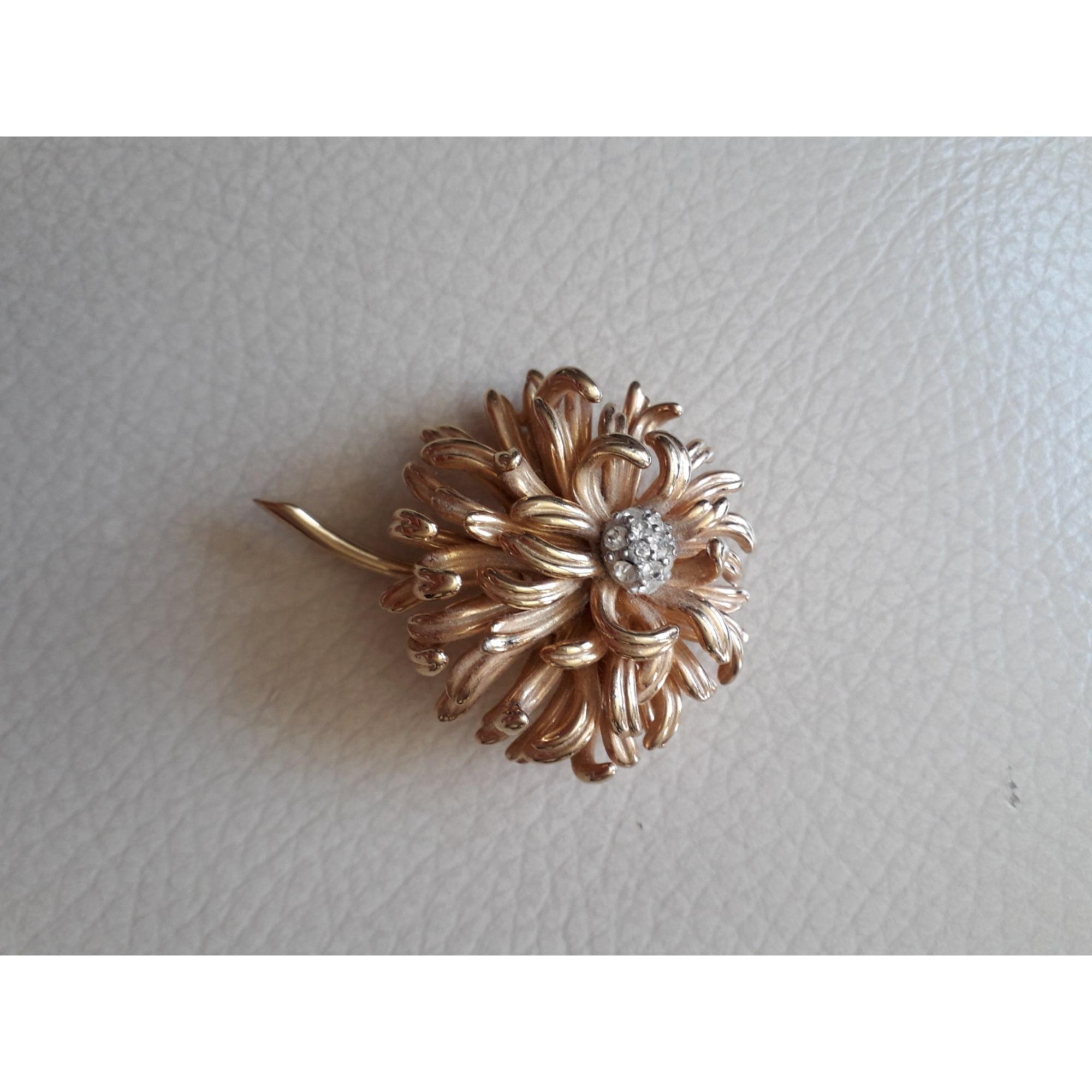 Broche MARCEL BOUCHER métal doré