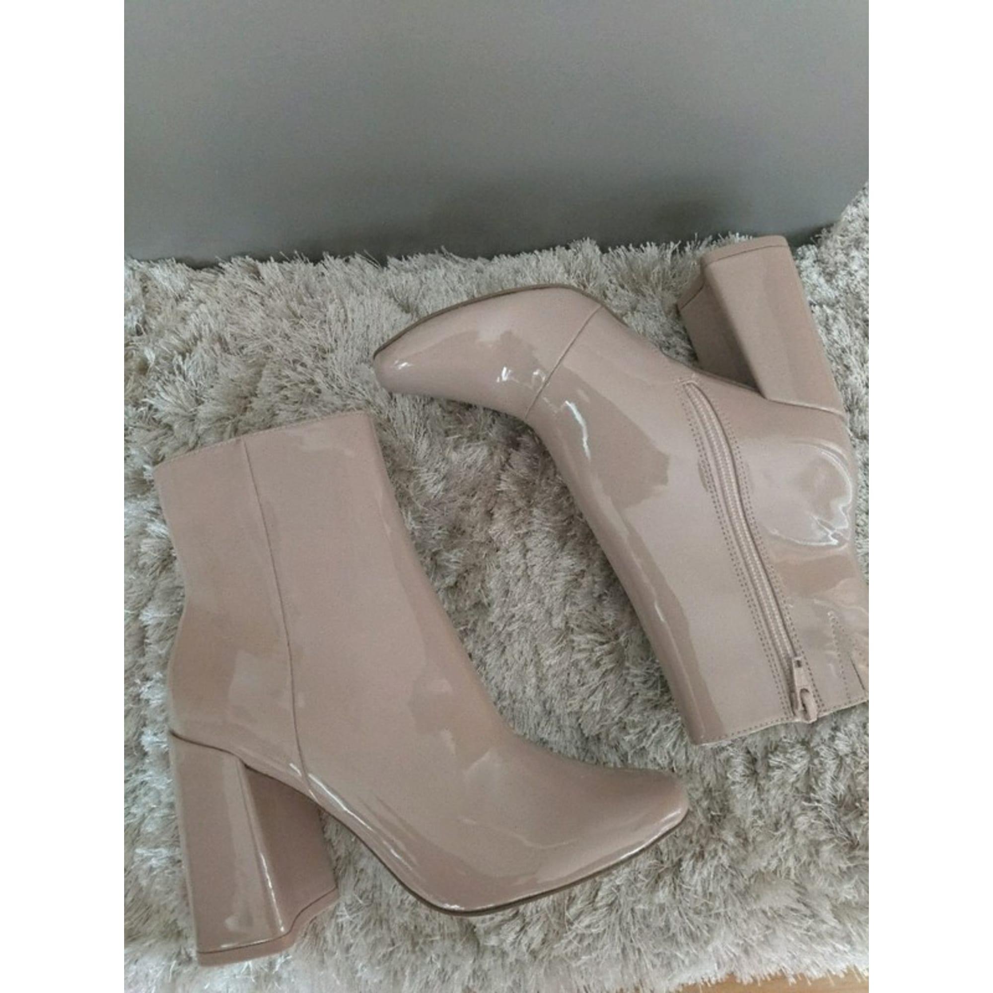 Bottines & low boots à talons ASOS 36 nude 7647592
