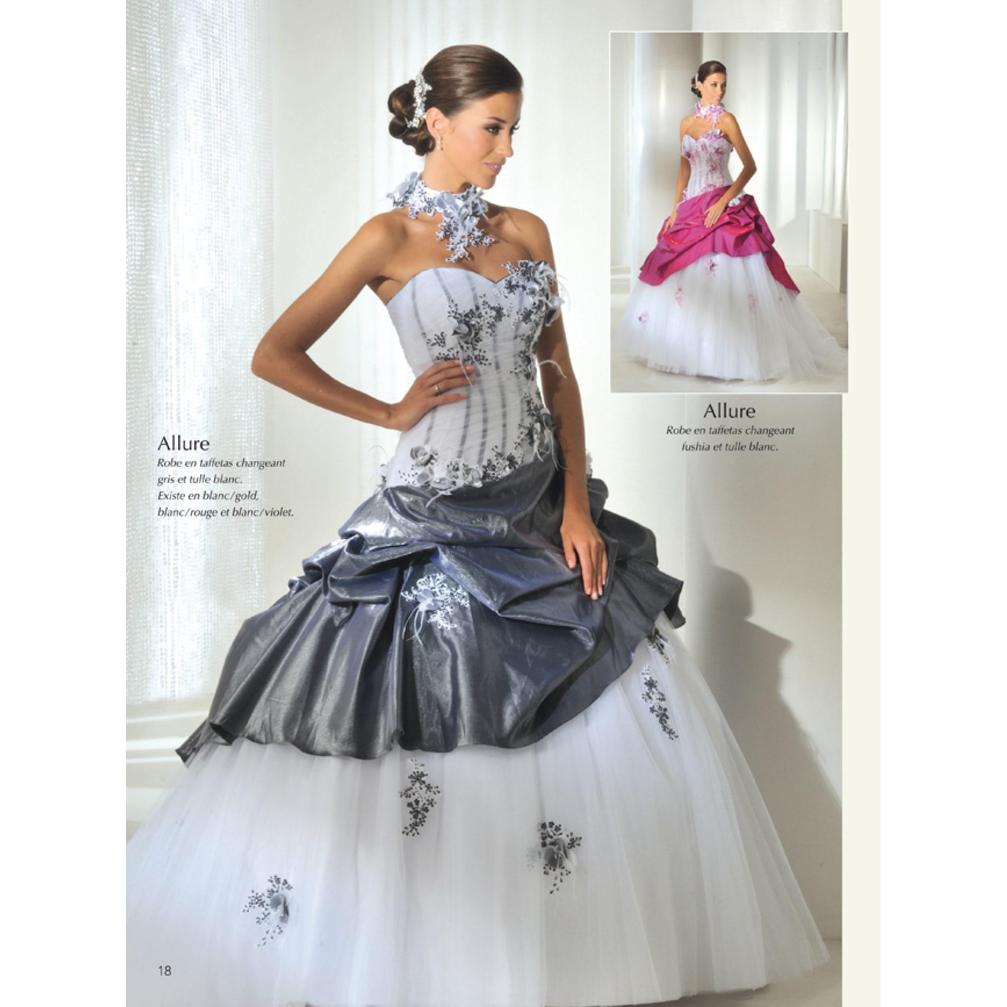 Robe de mariée ANNIE COUTURE 38 (M, T2) gris