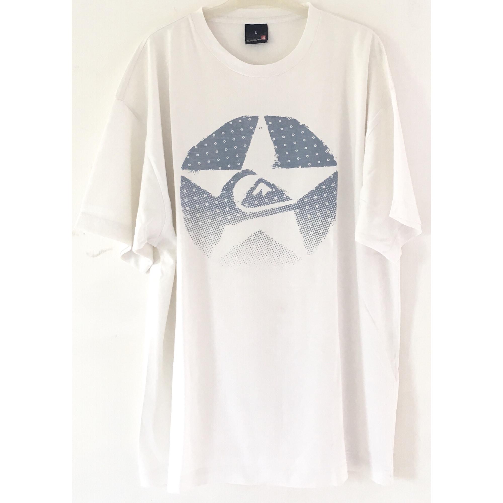 Tee-shirt QUIKSILVER Blanc, blanc cassé, écru