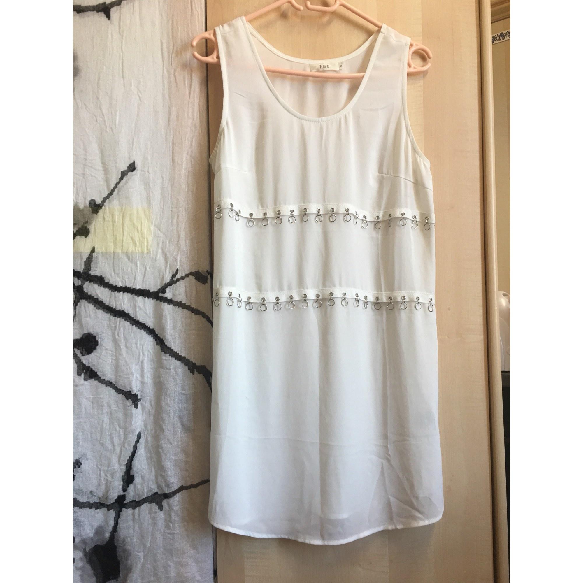 Top, tee-shirt F&P Blanc, blanc cassé, écru
