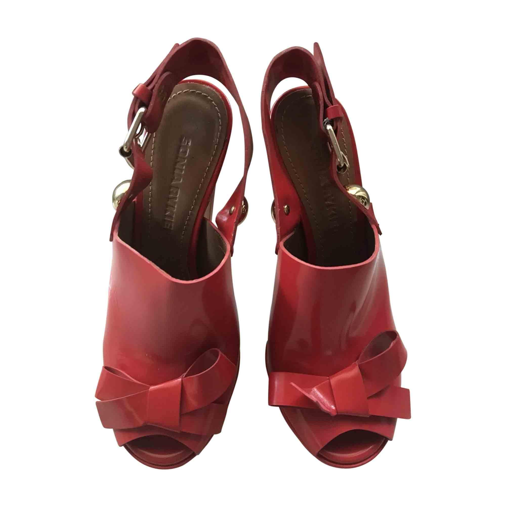 Sandales à talons SONIA RYKIEL Corail