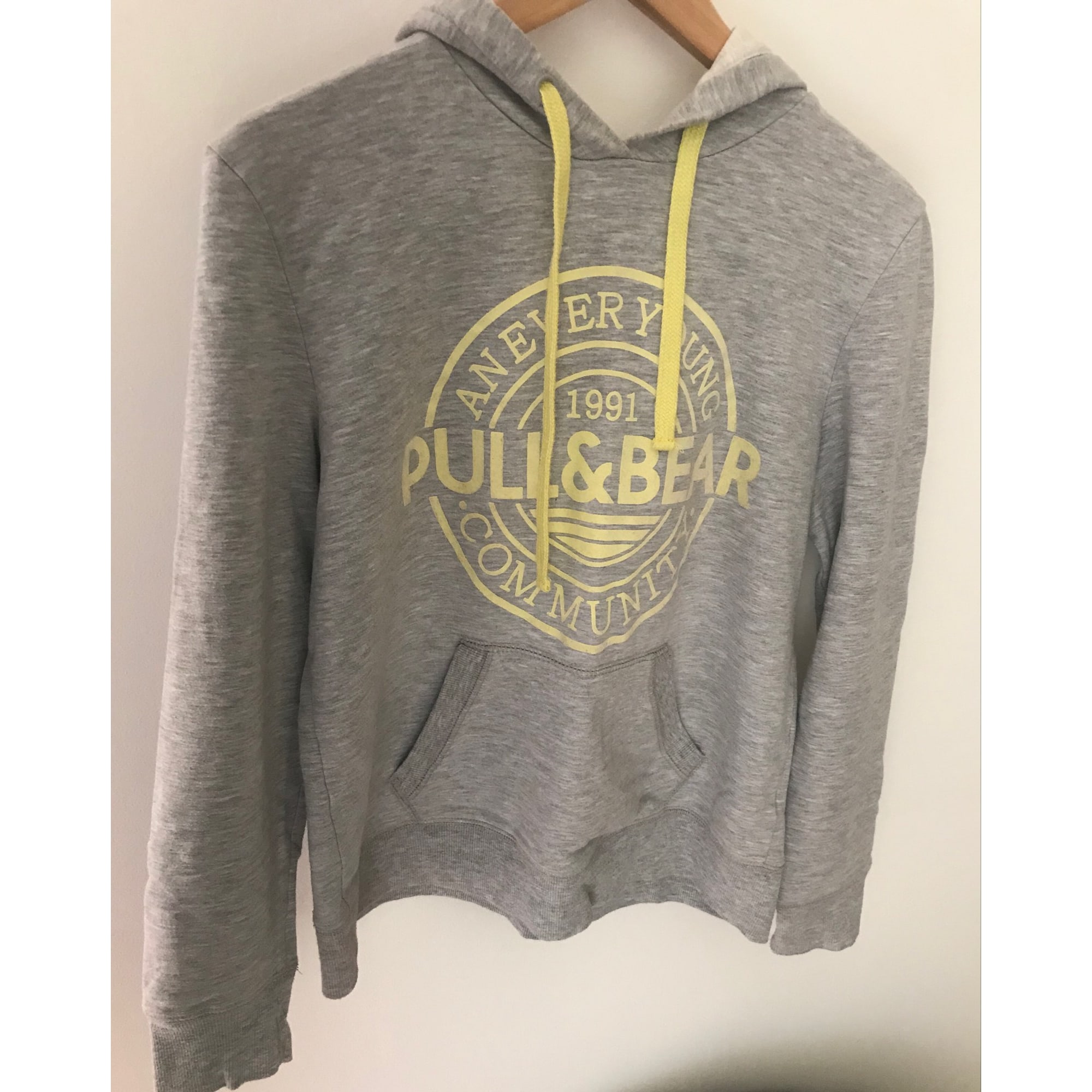 Sweat capuche pull homme Pull and Bear neuf taille M