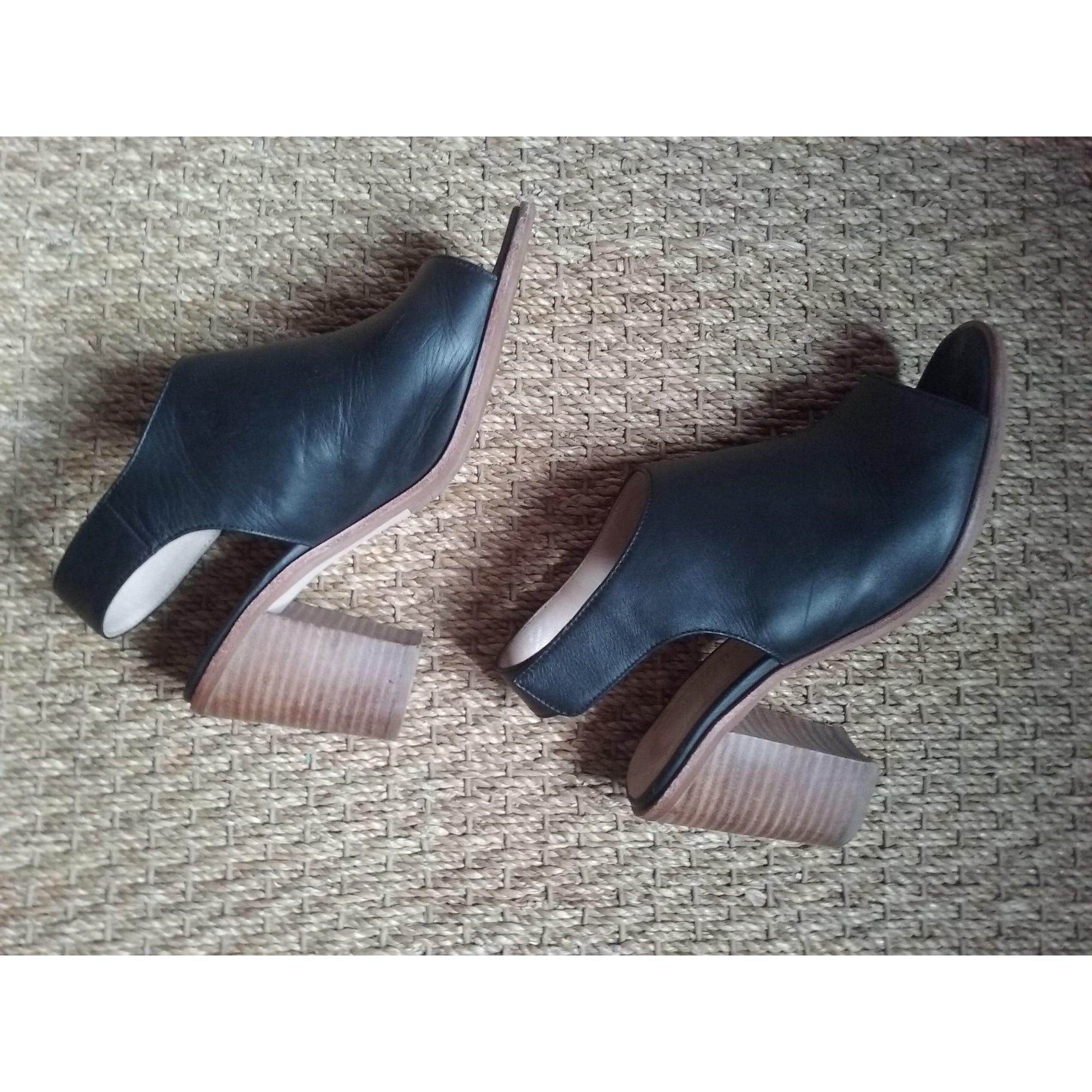 Sandales à talons JB MARTIN Noir