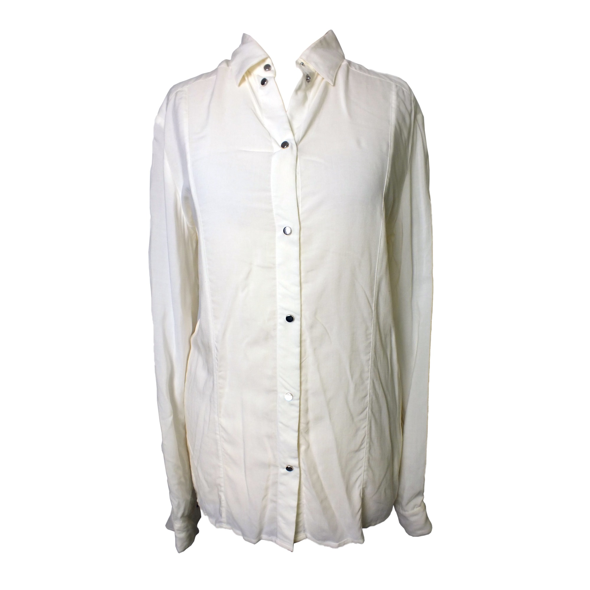 Chemise DIESEL Blanc, blanc cassé, écru