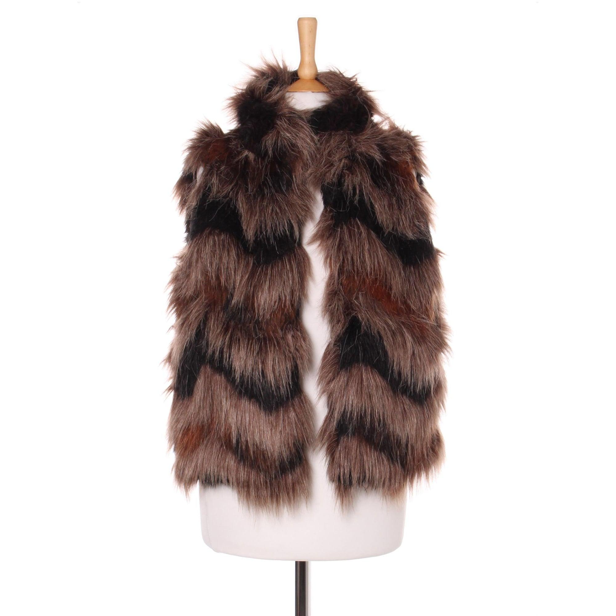 Blouson, veste en fourrure VERO MODA Imprimés animaliers